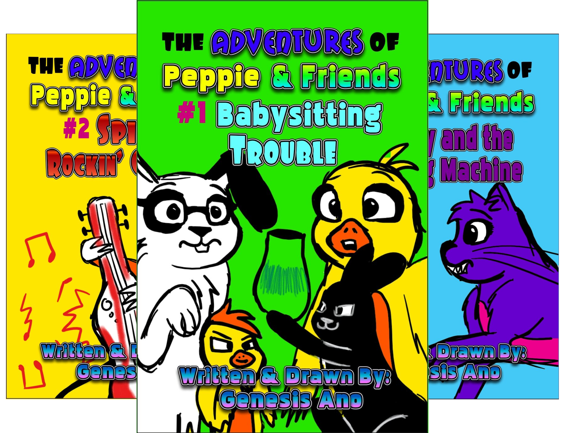 The Adventures of Peppie and Friends (3 Book Series)