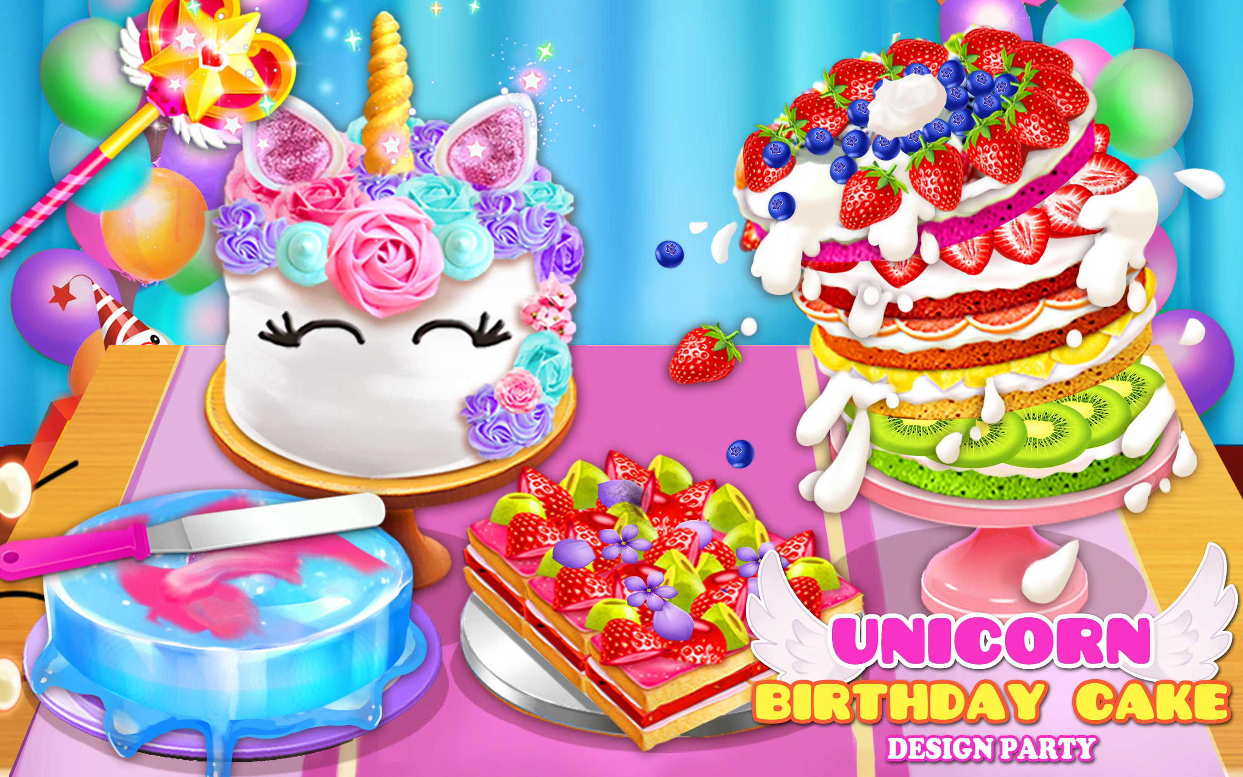 amazoncom birthday cake design party appstore for android