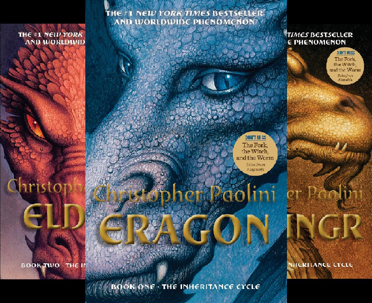 Inheritance 3-Book Hardcover Boxed Set (Eragon, Eldest, Brisingr) (3 Book Series)