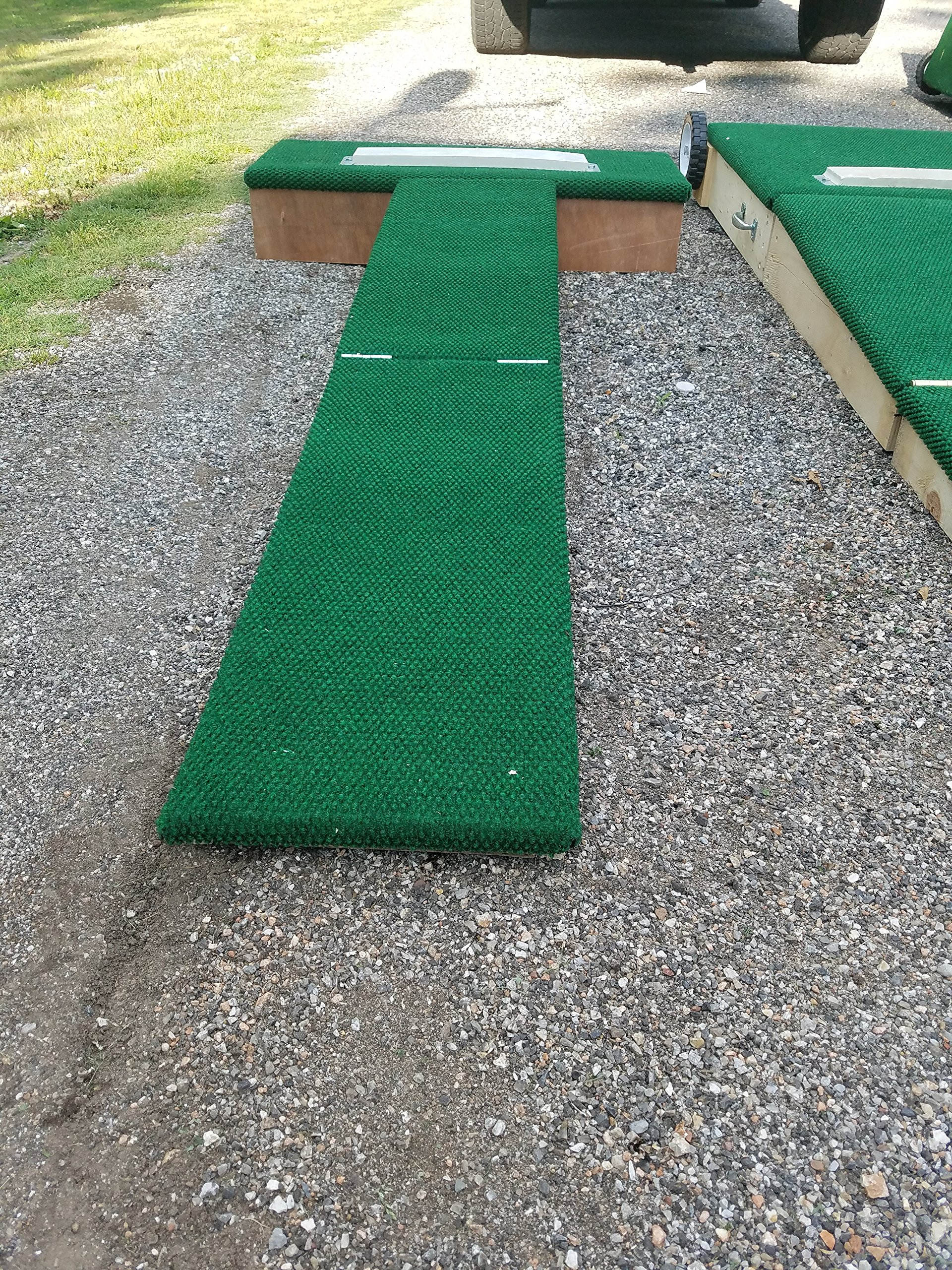 Players Choice Mounds Step Straight Youth Baseball Training Aid! Ultra-Light Portable Pitching Mound! by Players Choice Mounds
