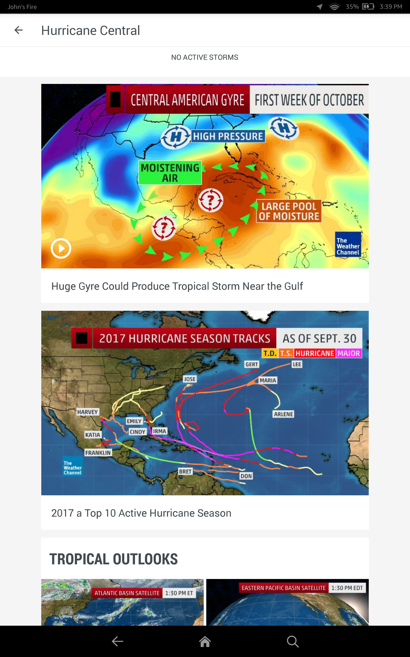 The Weather Channel: Forecast, Radar & Alerts - Import It All