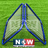 RapidFire DOUBLE Rebound Net - The Most Fun Way To Improve Catching Skills [Net World Sports]