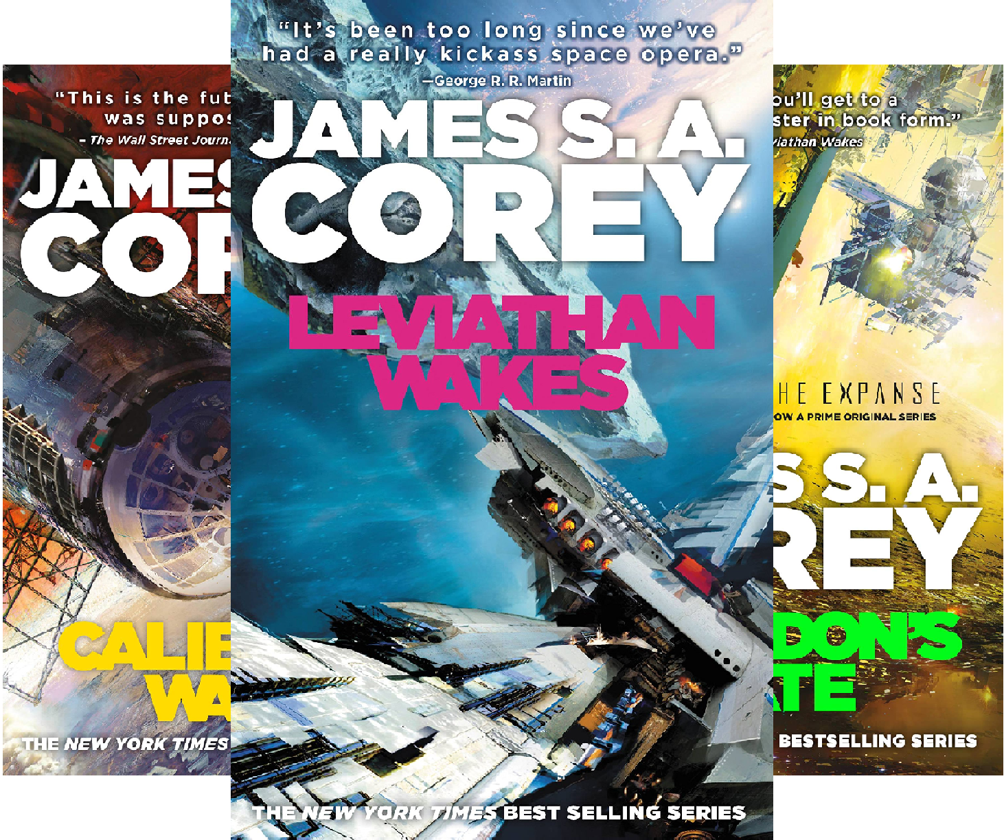 The Expanse Collection: Books 1-3