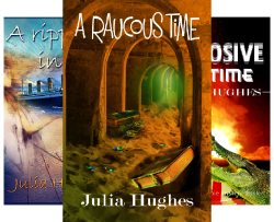 A Ripple in Time: A paranormal time travel romance (Celtic Cousins Adventures Book 2)
