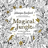 Official Magical Jungle 2018 Wall Calendar