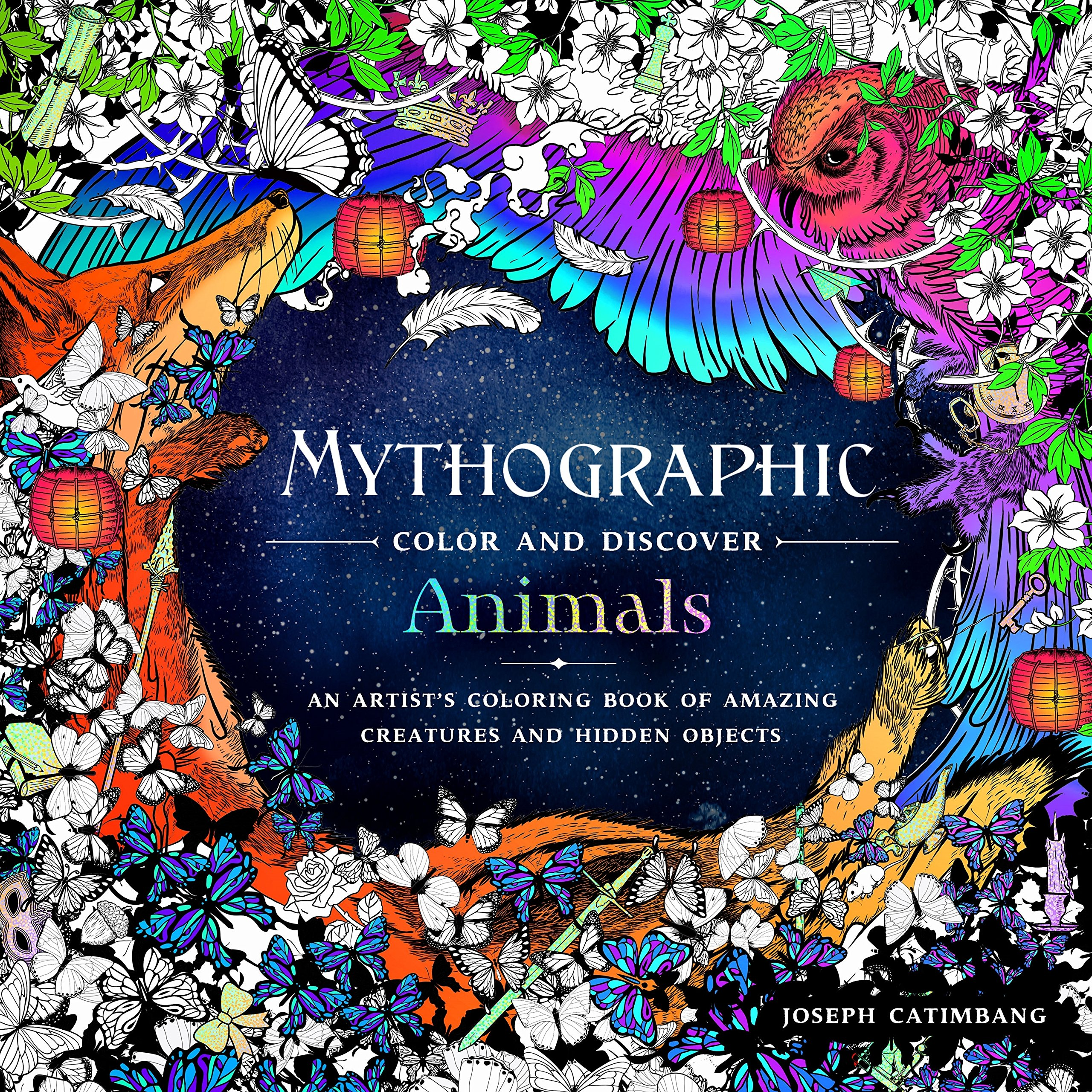 Mythographic Color Discover Coloring Creatures product image