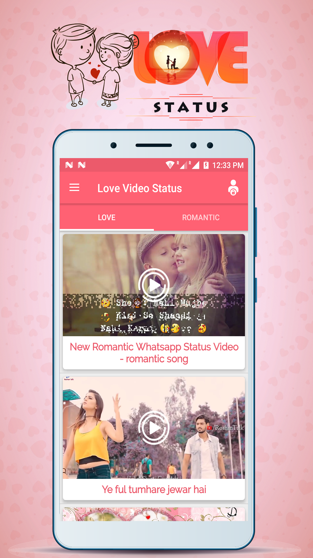Love Video Status Amazones Appstore Para Android