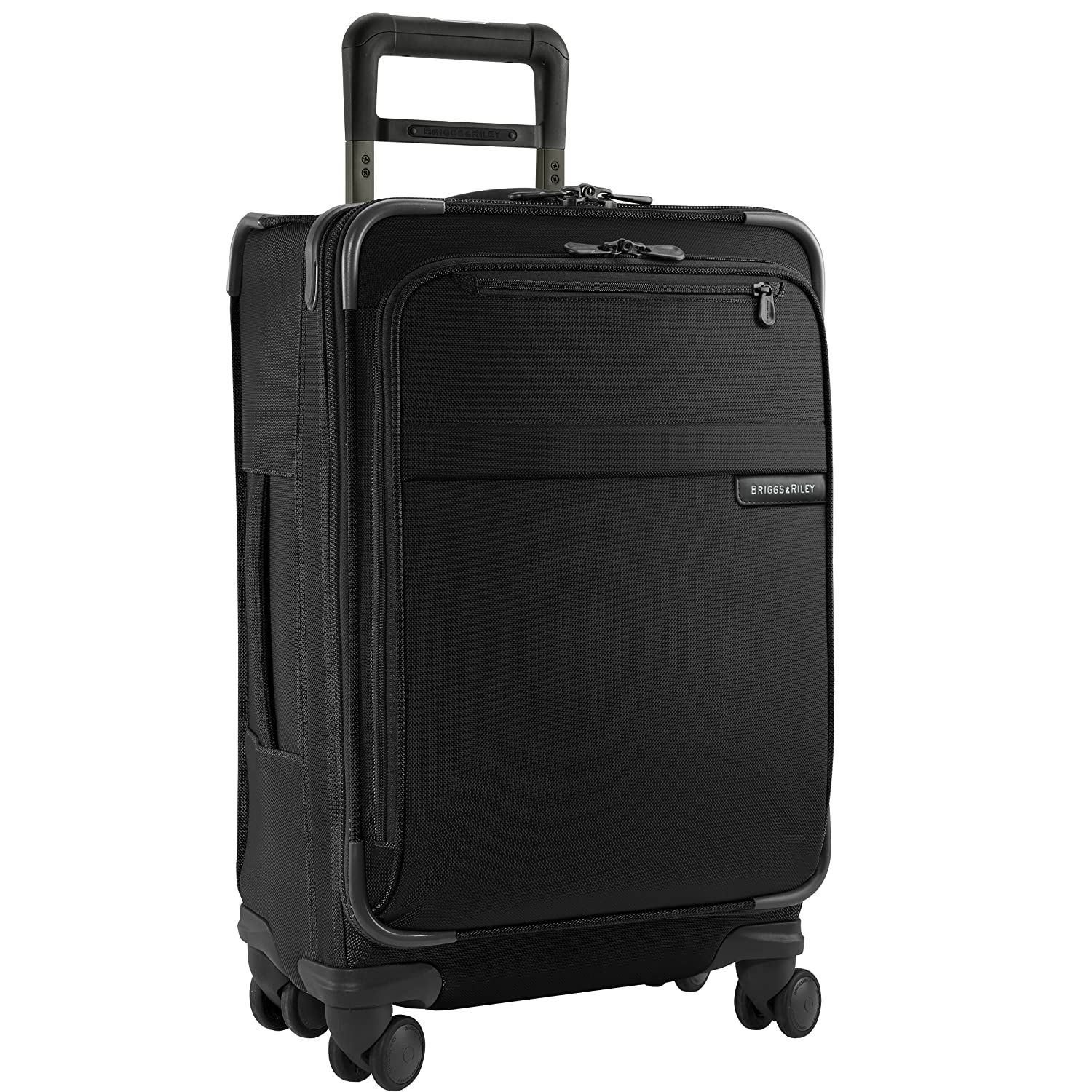 Briggs Riley Baseline Luggage Baseline Domestic Carry-On Spinner Bag, Black, Medium