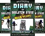 Skeleton Steve & the Noob Mobs Minecraft Diaries Collection - Skeleton Steve the Noob Years (12 Book Series)
