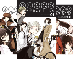 Bungo Stray Dogs (Issues) (3 Book Series) by  Kafka Asagiri