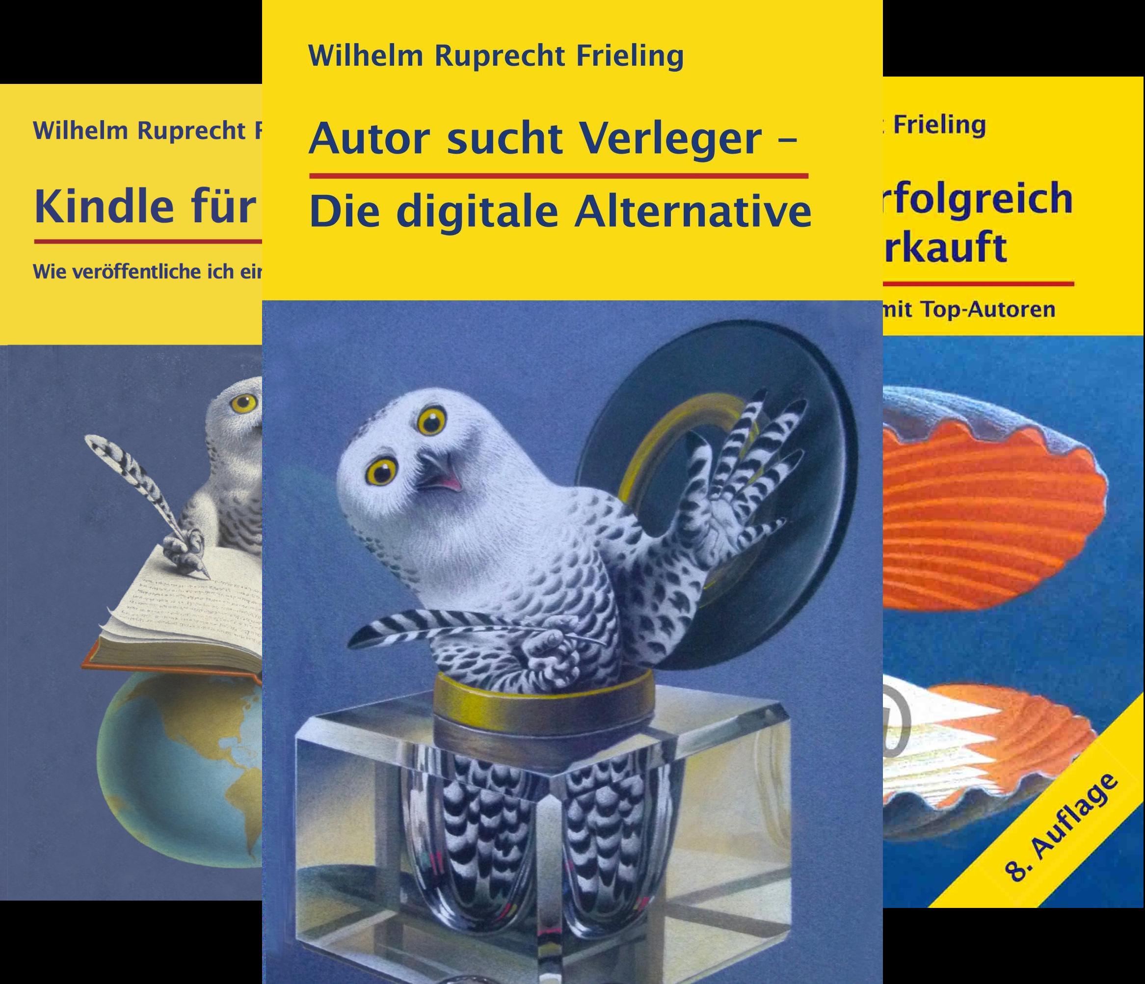 Frielings Bücher Für Autoren (Reihe in 9 Bänden)