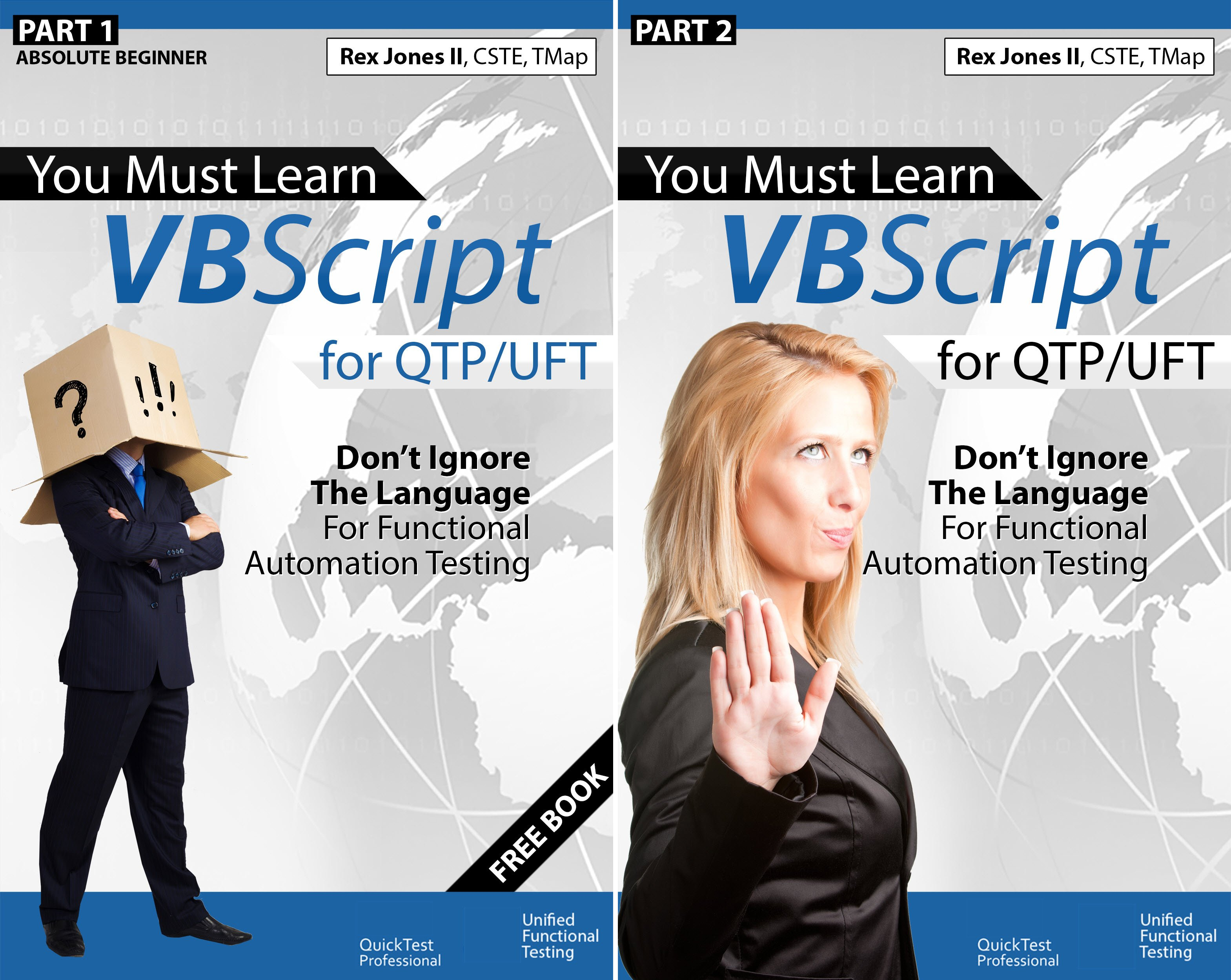 You Must Learn VBScript for QTP/UFT (2 Book Series)