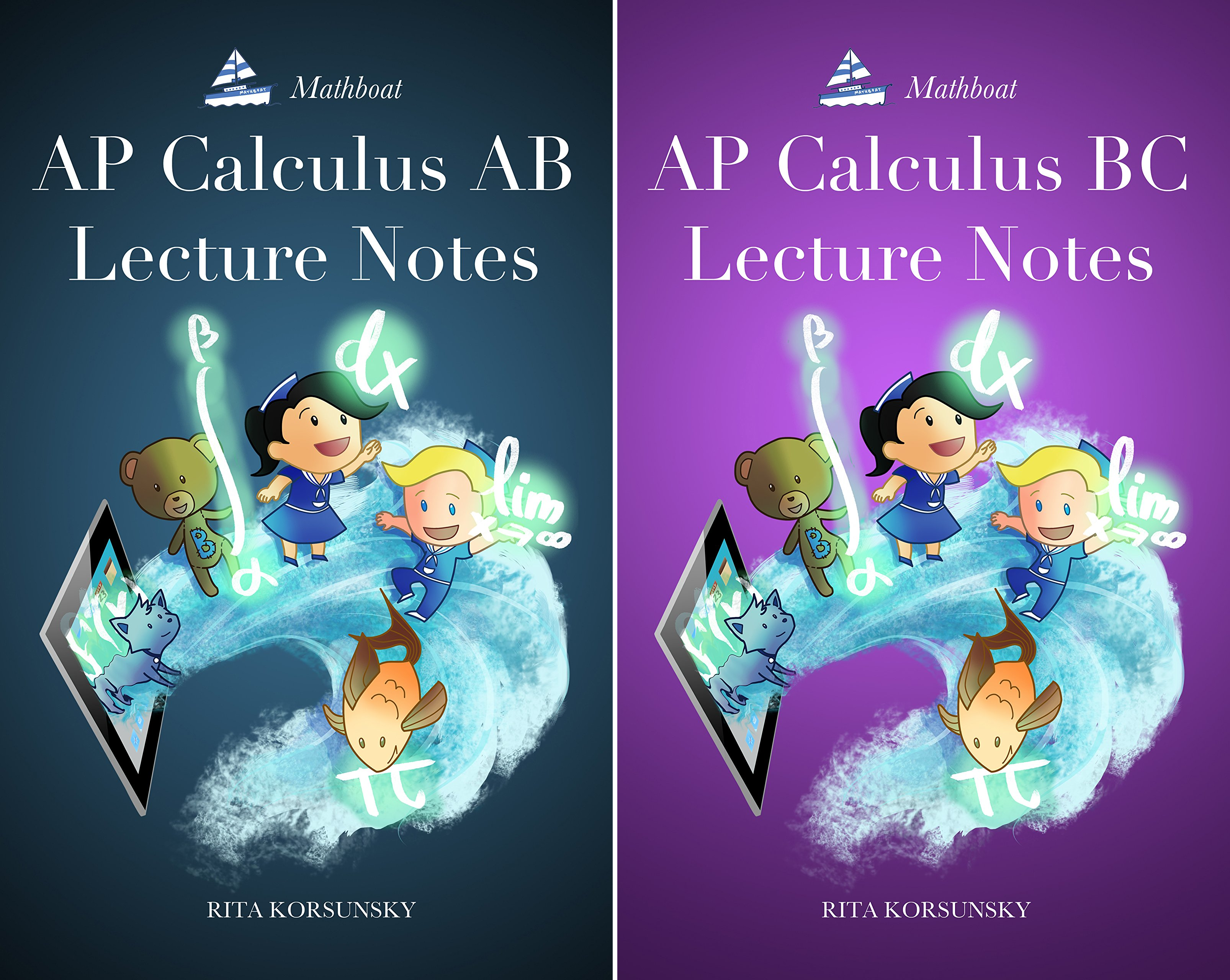 AP Calculus Lecture Notes (2 Book Series)