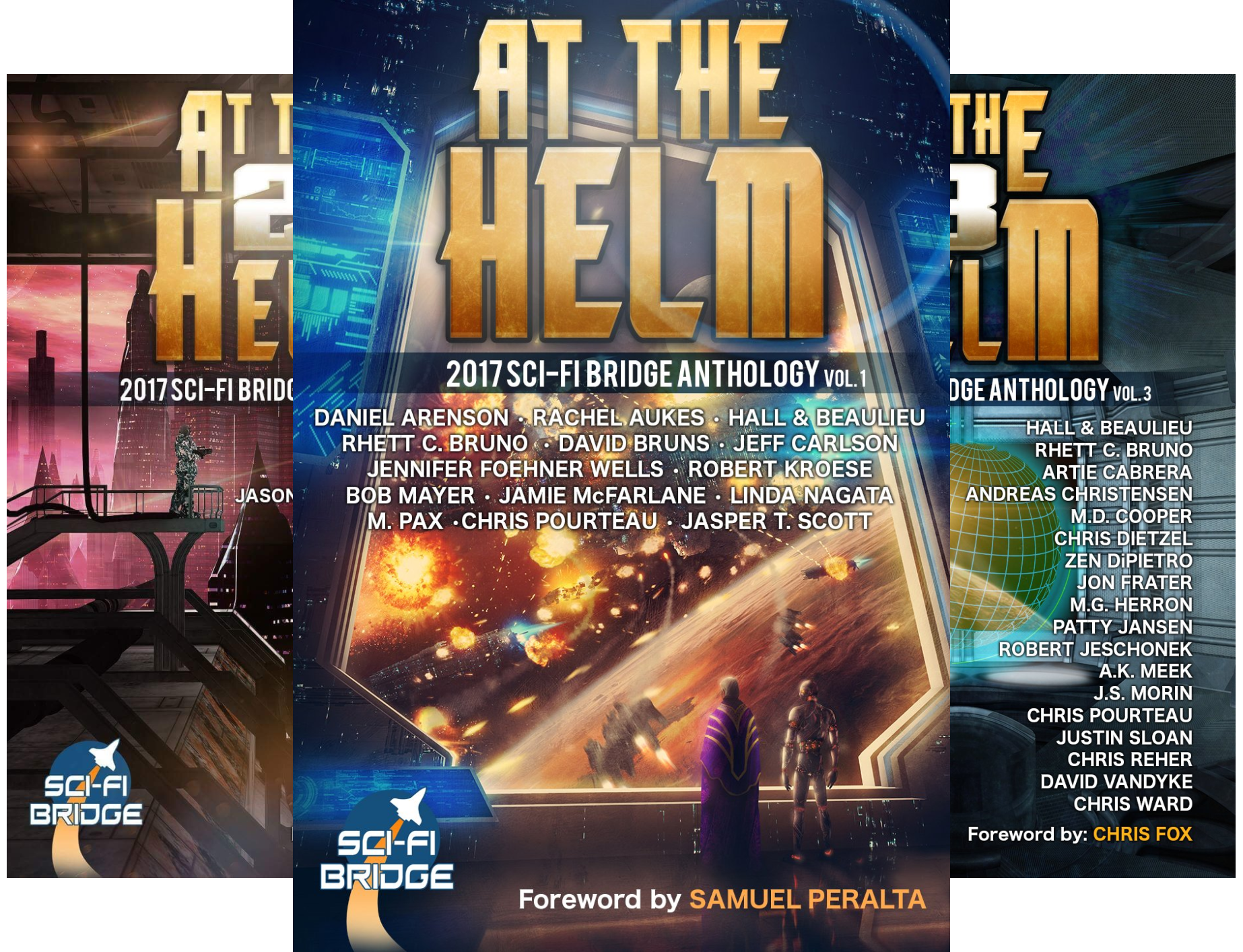At The Helm (4 Book Series)