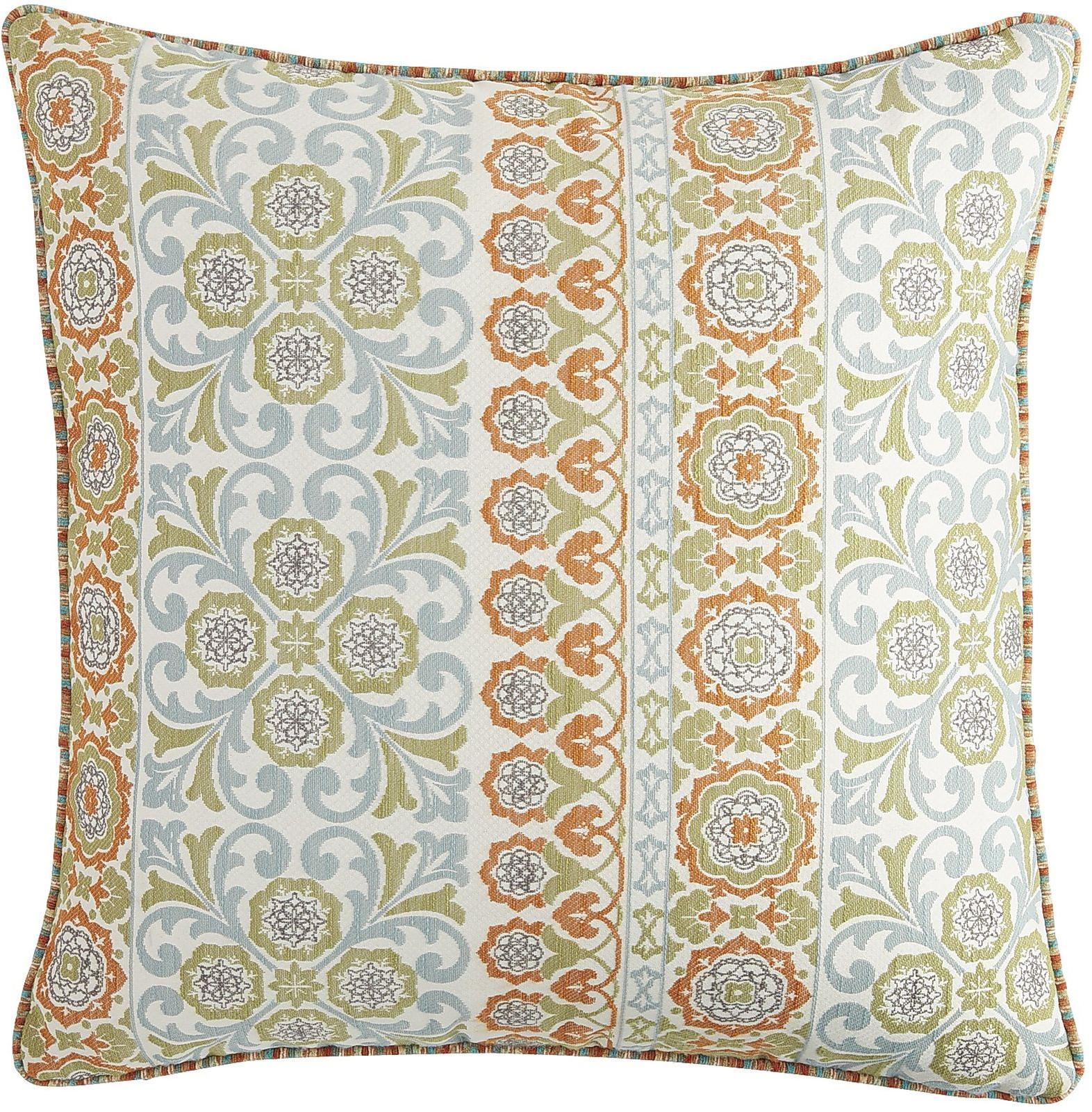 Oversized Capri Tile Pillow - Multi | Pier 1 Imports