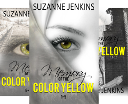Memory of the Color Yellow (4 Book Series) by  Suzanne Jenkins