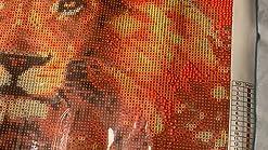 DIY 5D Diamond Painting Kits Full Large punto de cruz pintura de diamante completo grand tama/ño Flores de loto p/úrpura 30x60cm Cristal Rhinestone lienzo bordado Cross Stitch Art home Sal/ón Decor