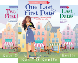 Cozy Cottage Café (3 Book Series) by  Kate O'Keeffe