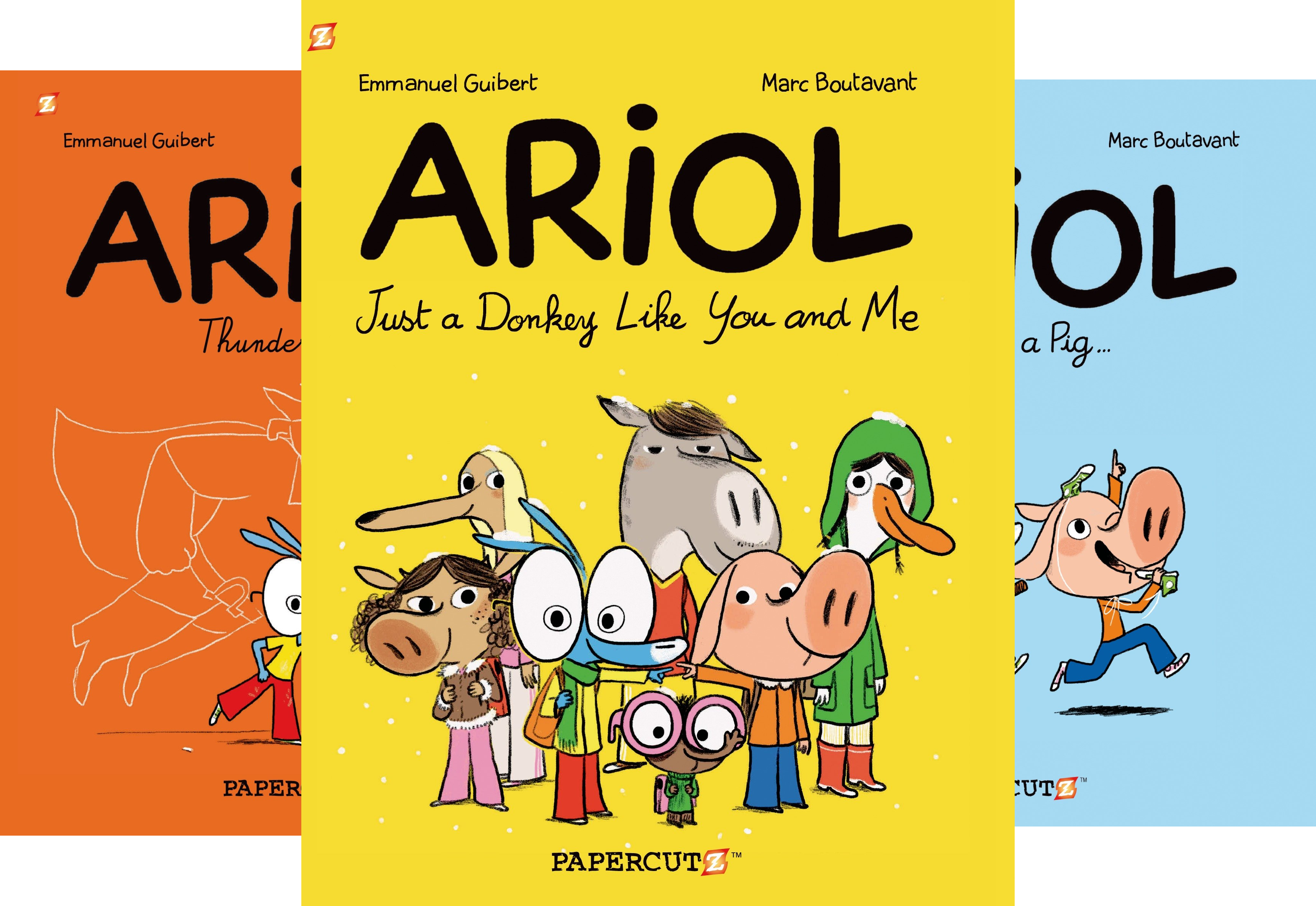 Ariol Graphic Novels (9 Book Series)