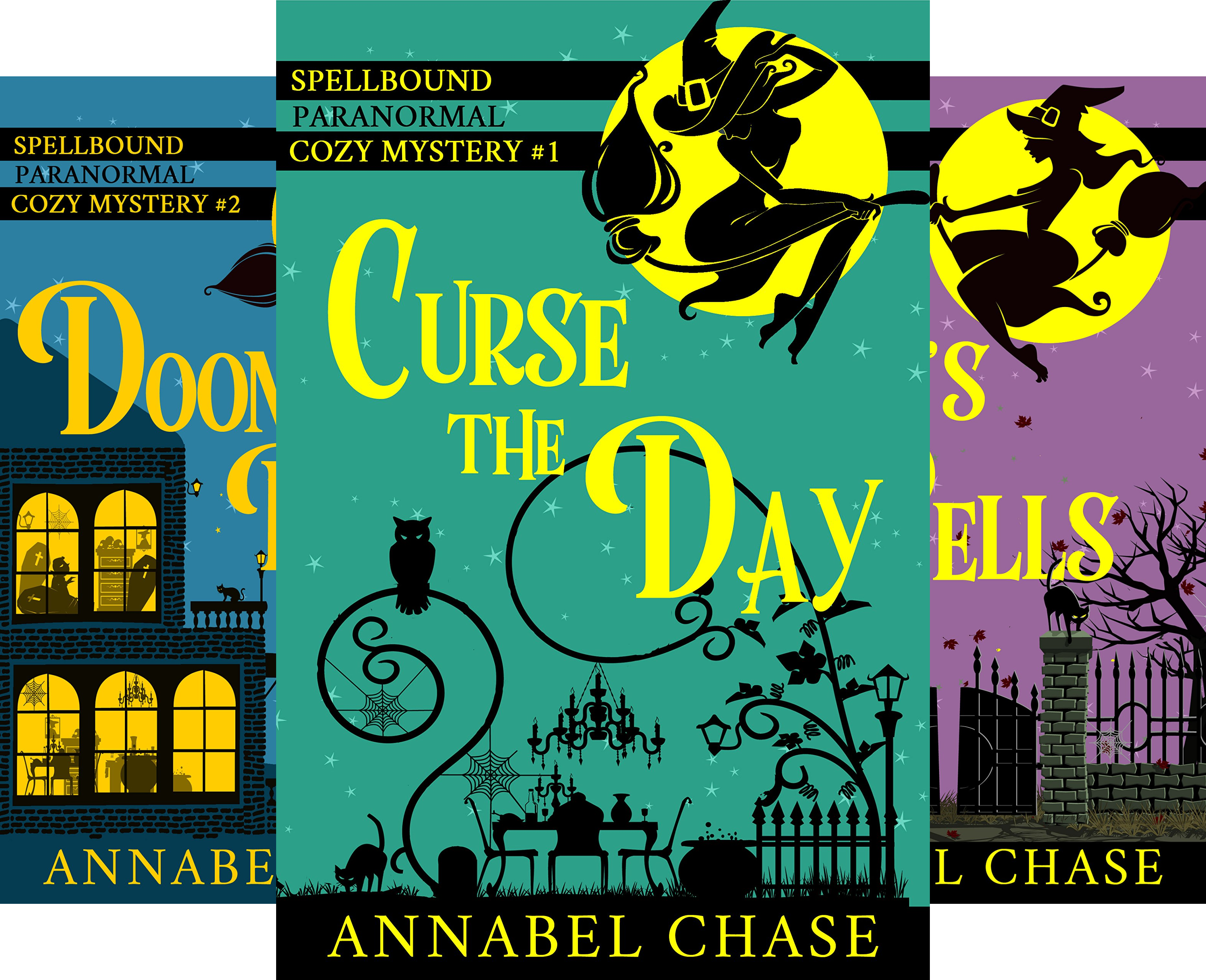 Spellbound Paranormal Cozy Mystery (5 Book Series)