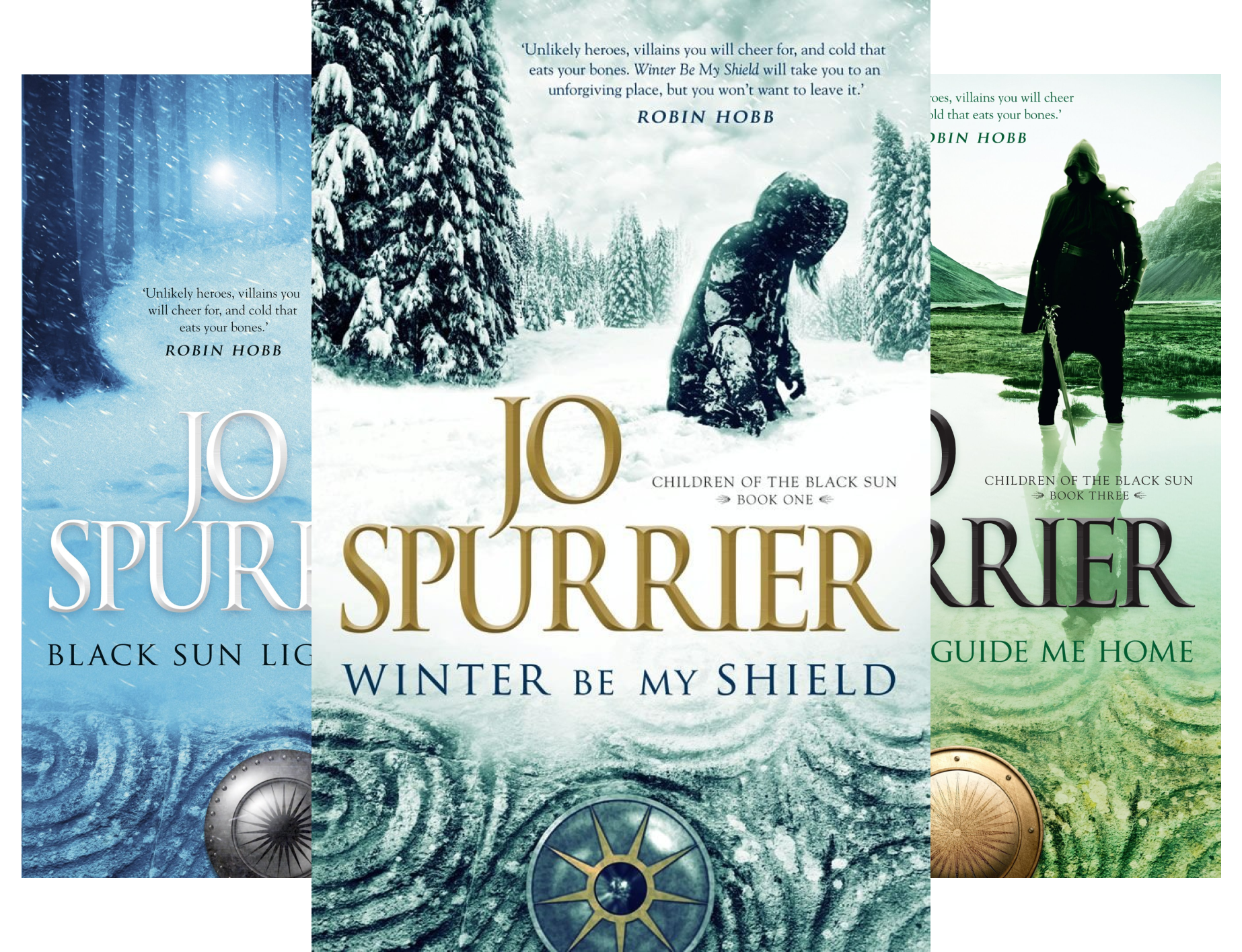 Children of the Black Sun (3 Book Series) by Jo Spurrier