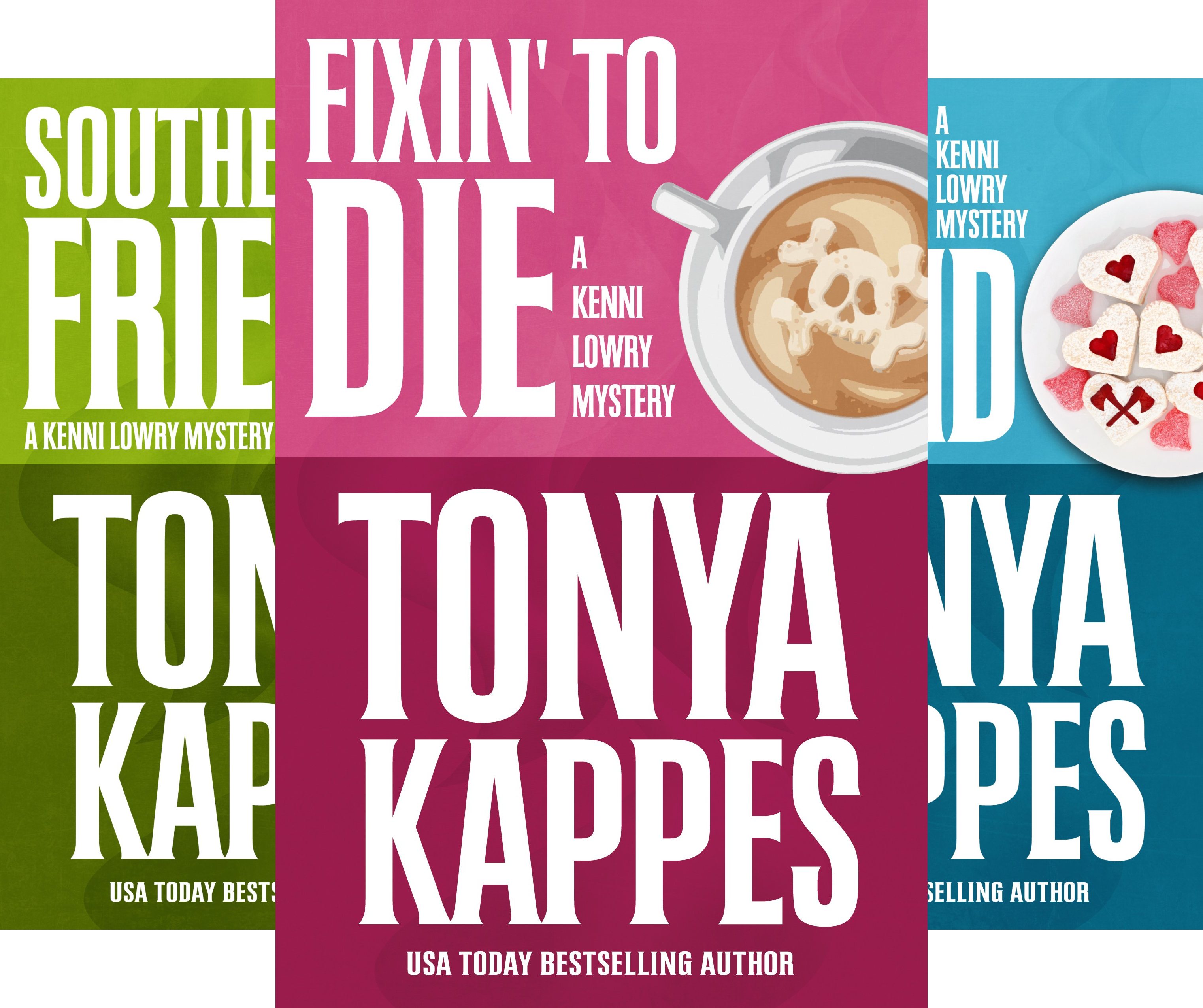 A Kenni Lowry Mystery (3 Book Series)
