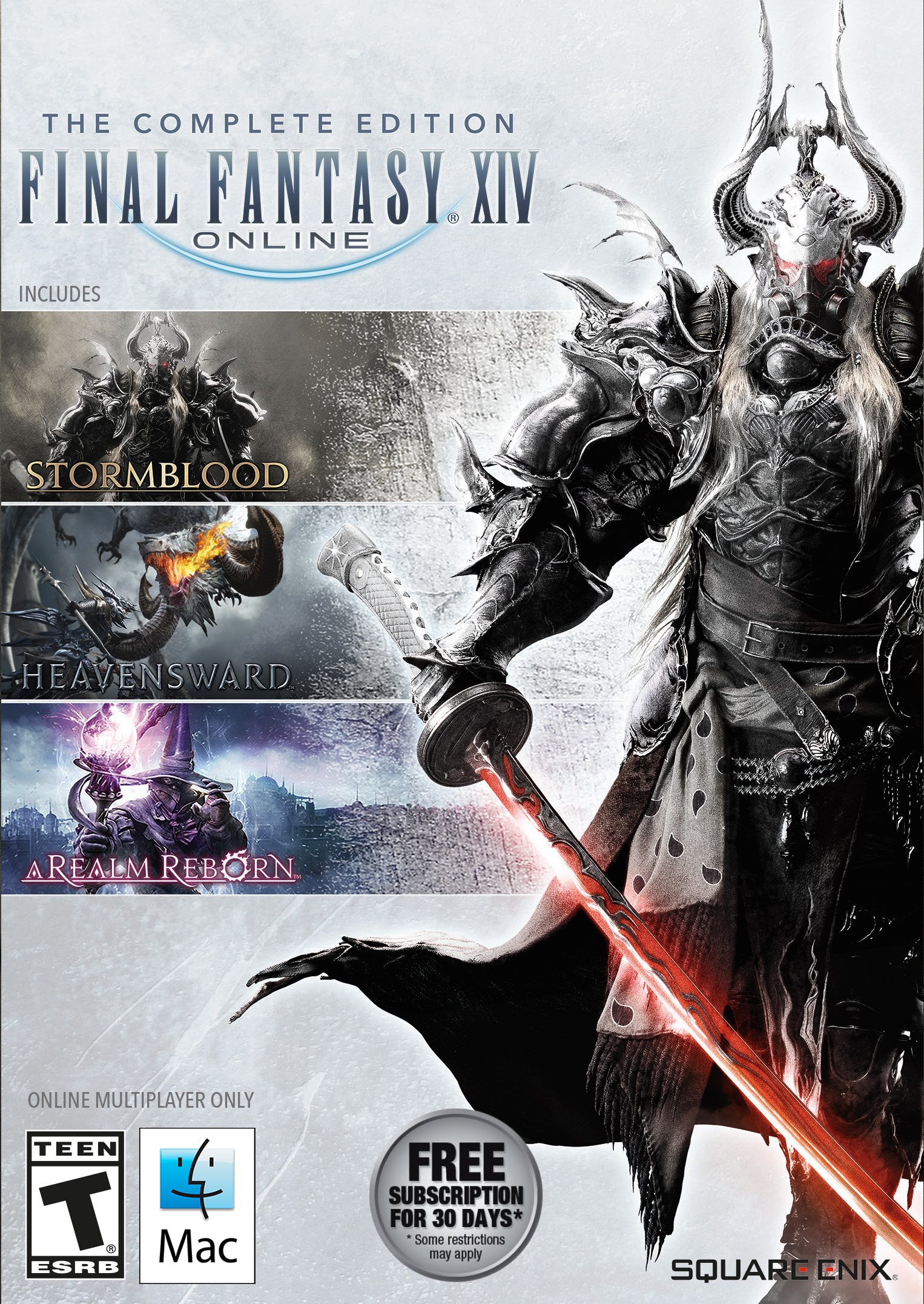 FINAL FANTASY XIV Online Complete Edition (Mac) [Online Game Code]