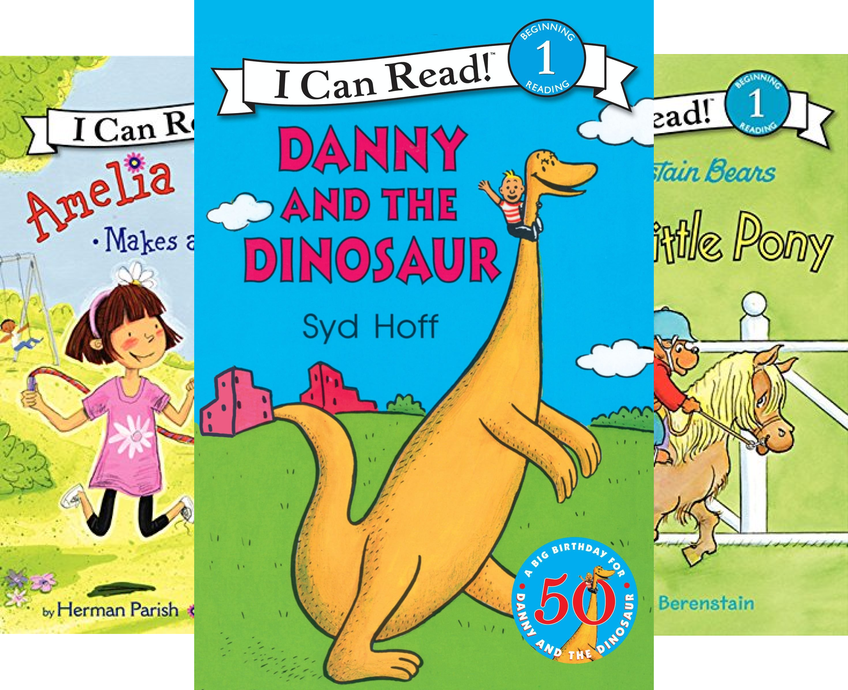 Danny and the Dinosaur and Friends: Level One Box Set (I Can Read Book 1) (8 Book Series)