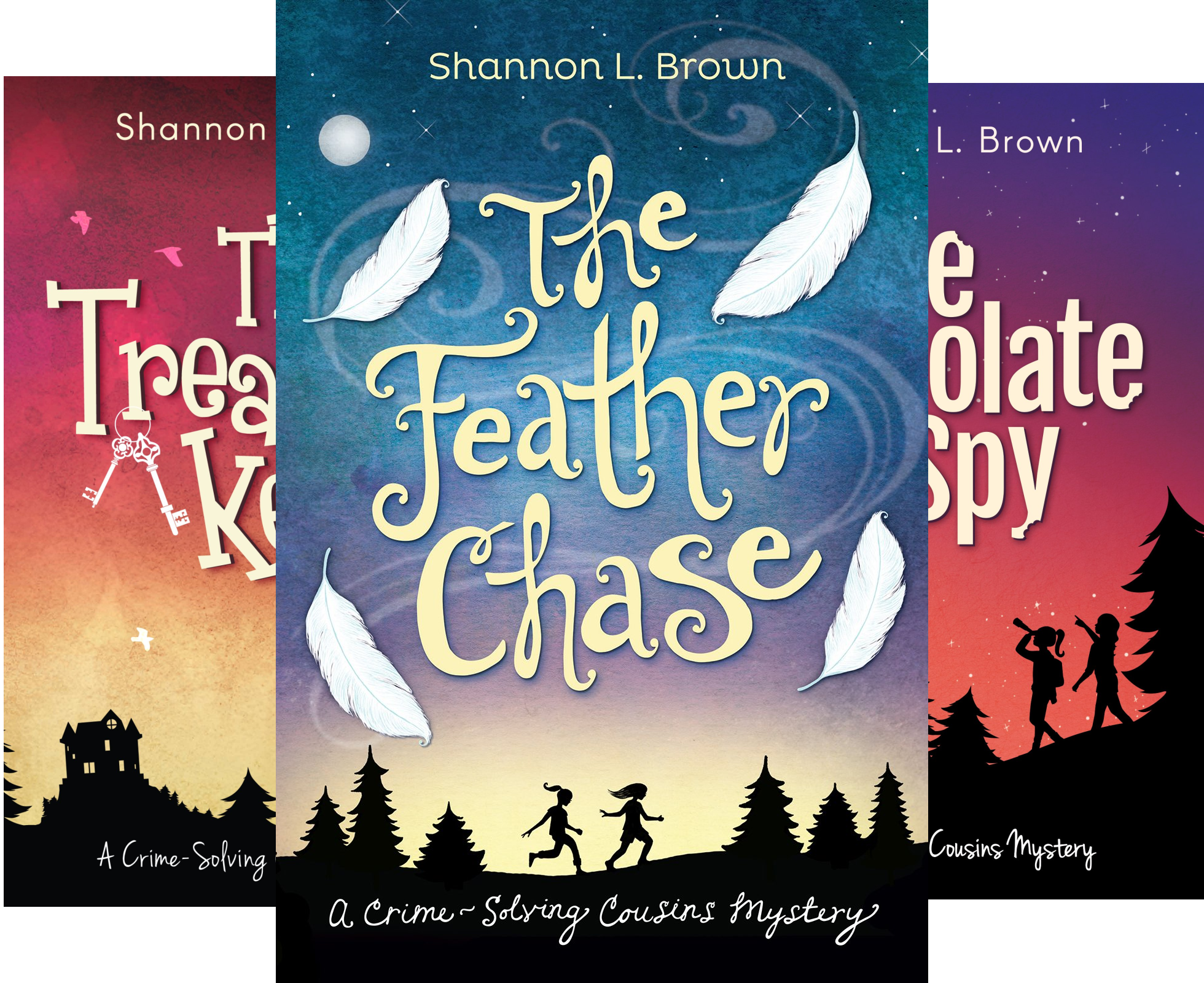 The Crime-Solving Cousins Mysteries (3 Book Series)