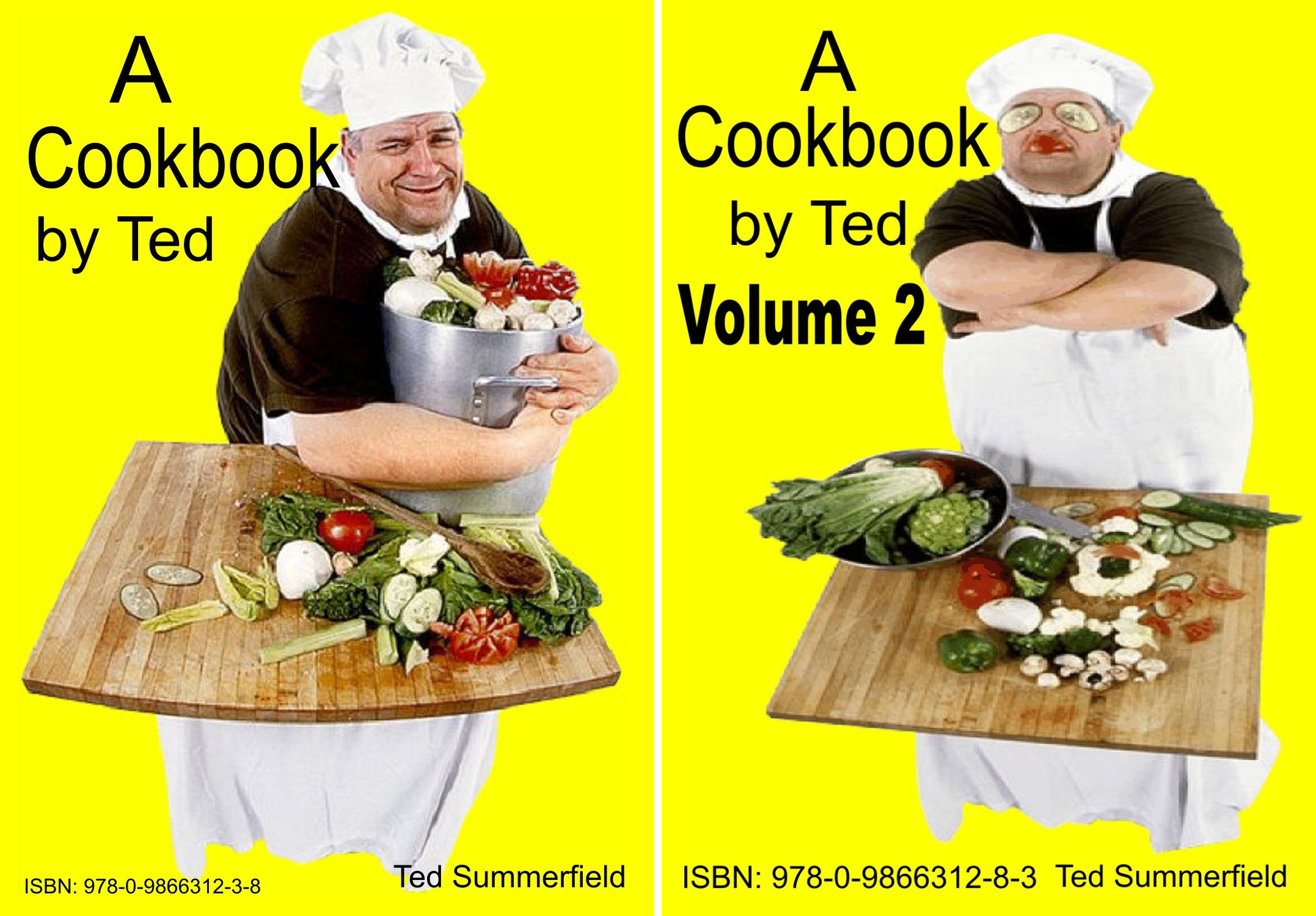 A Cookbook By Ted (2 Book Series)