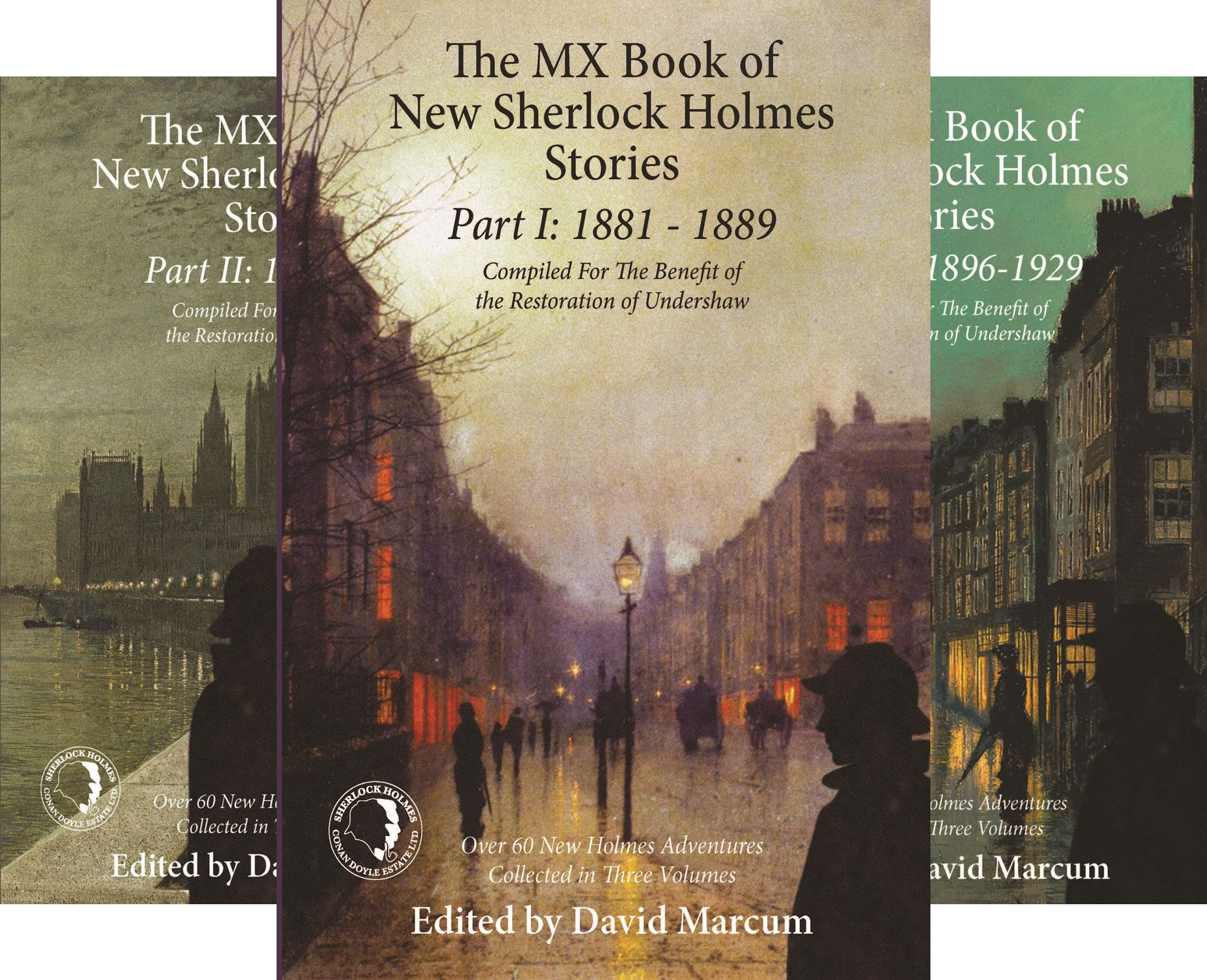 The MX Book of New Sherlock Holmes Stories (5 Book Series)