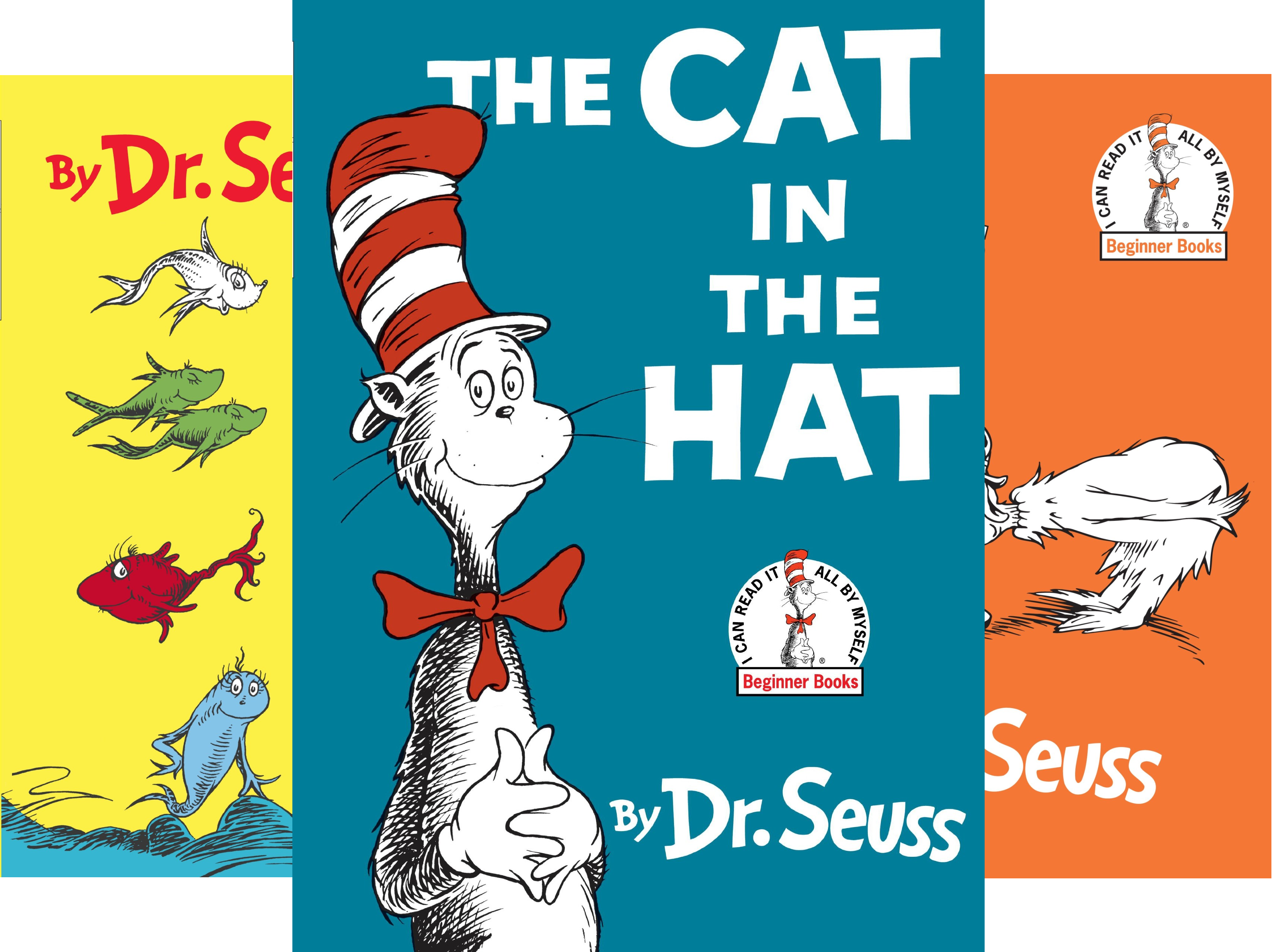 - Dr. Seuss's Beginner Book Collection (Cat in the Hat, One Fish Two Fish, Green Eggs and Ham, Hop on Pop, Fox in Socks)
