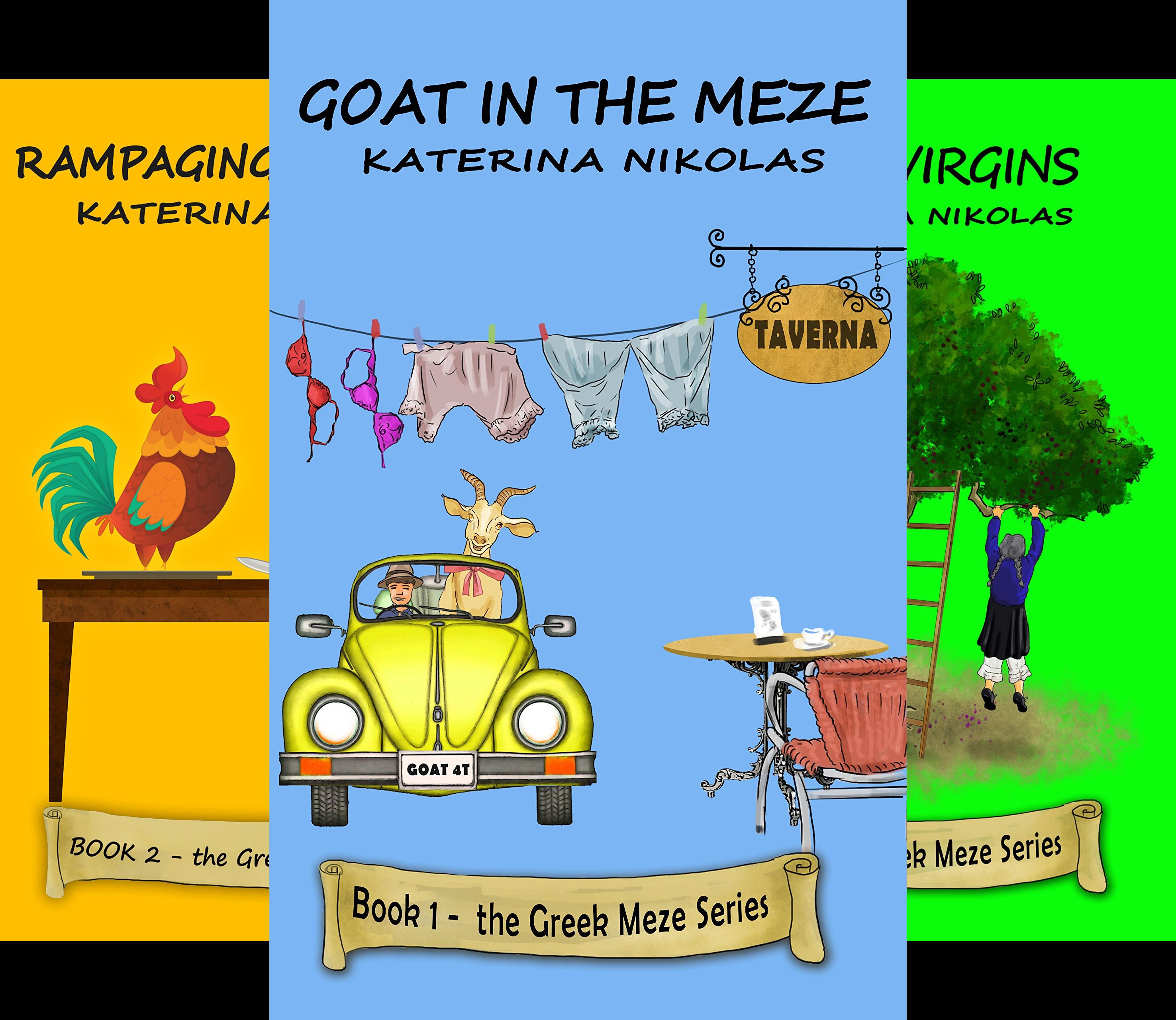The Greek Meze Series (6 Book Series)