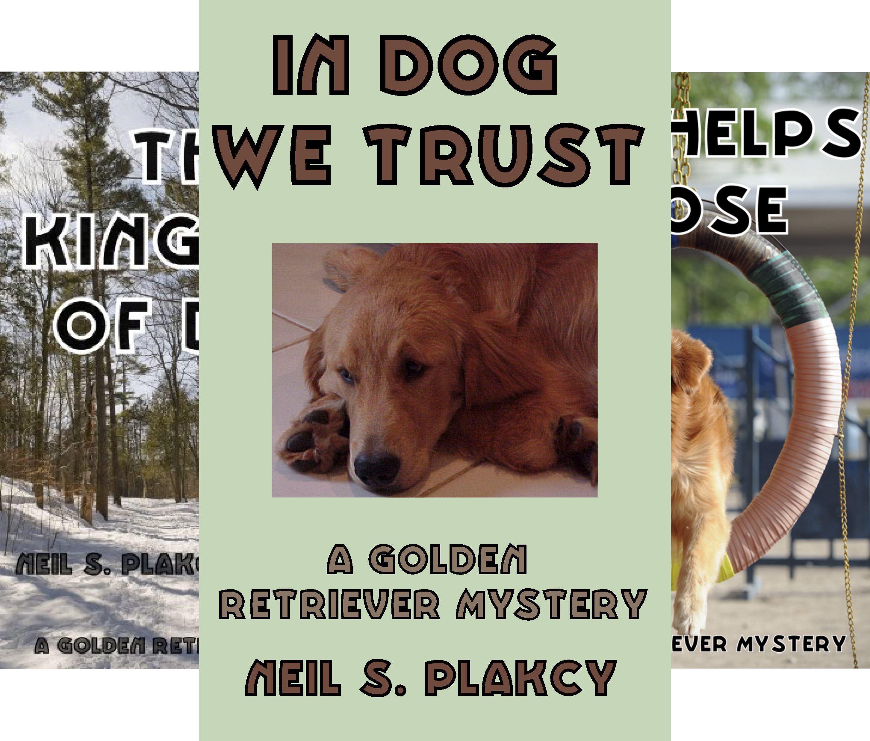 Golden Retriever Mysteries (7 Book Series)