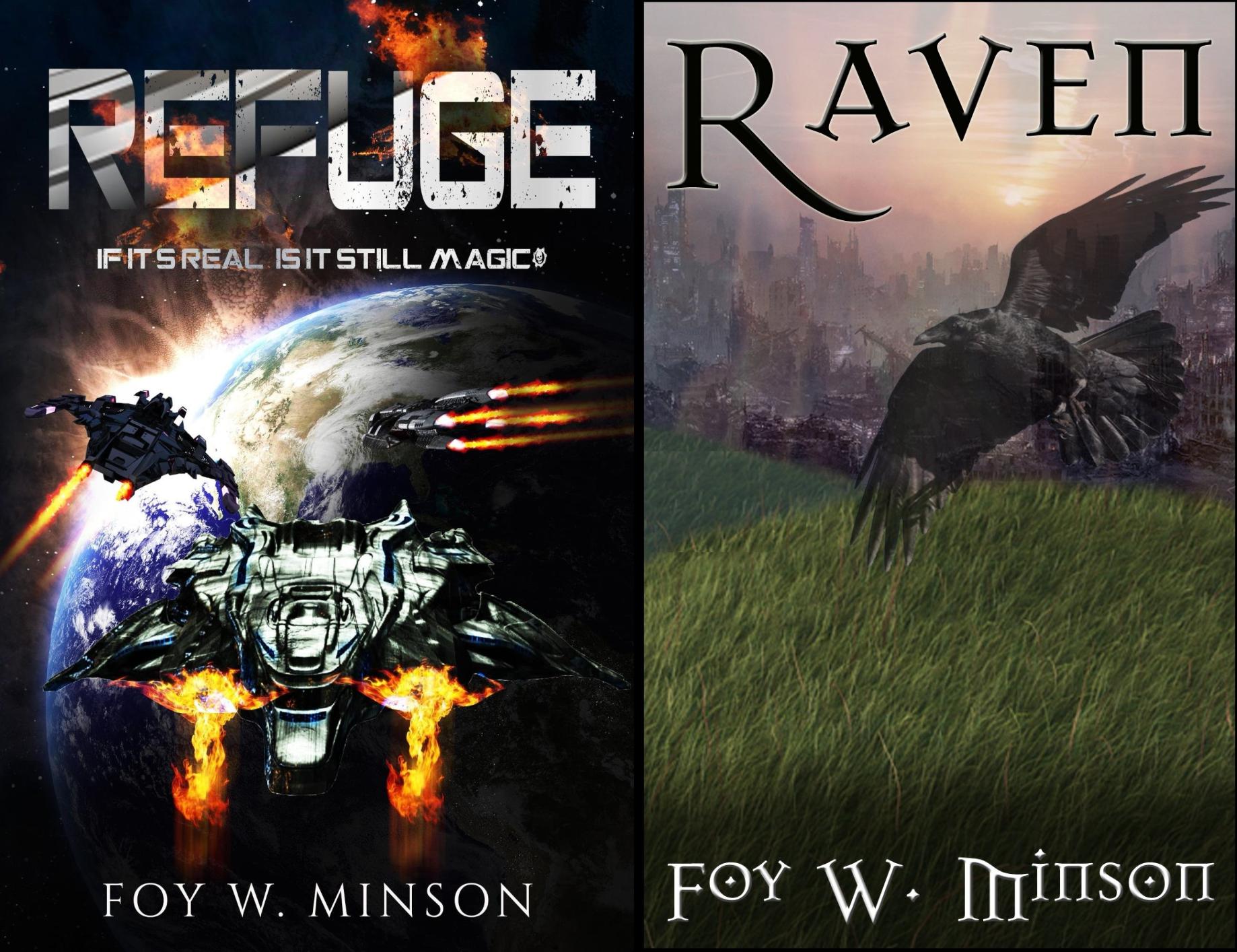 Refuge Omnibus (2 Book Series)