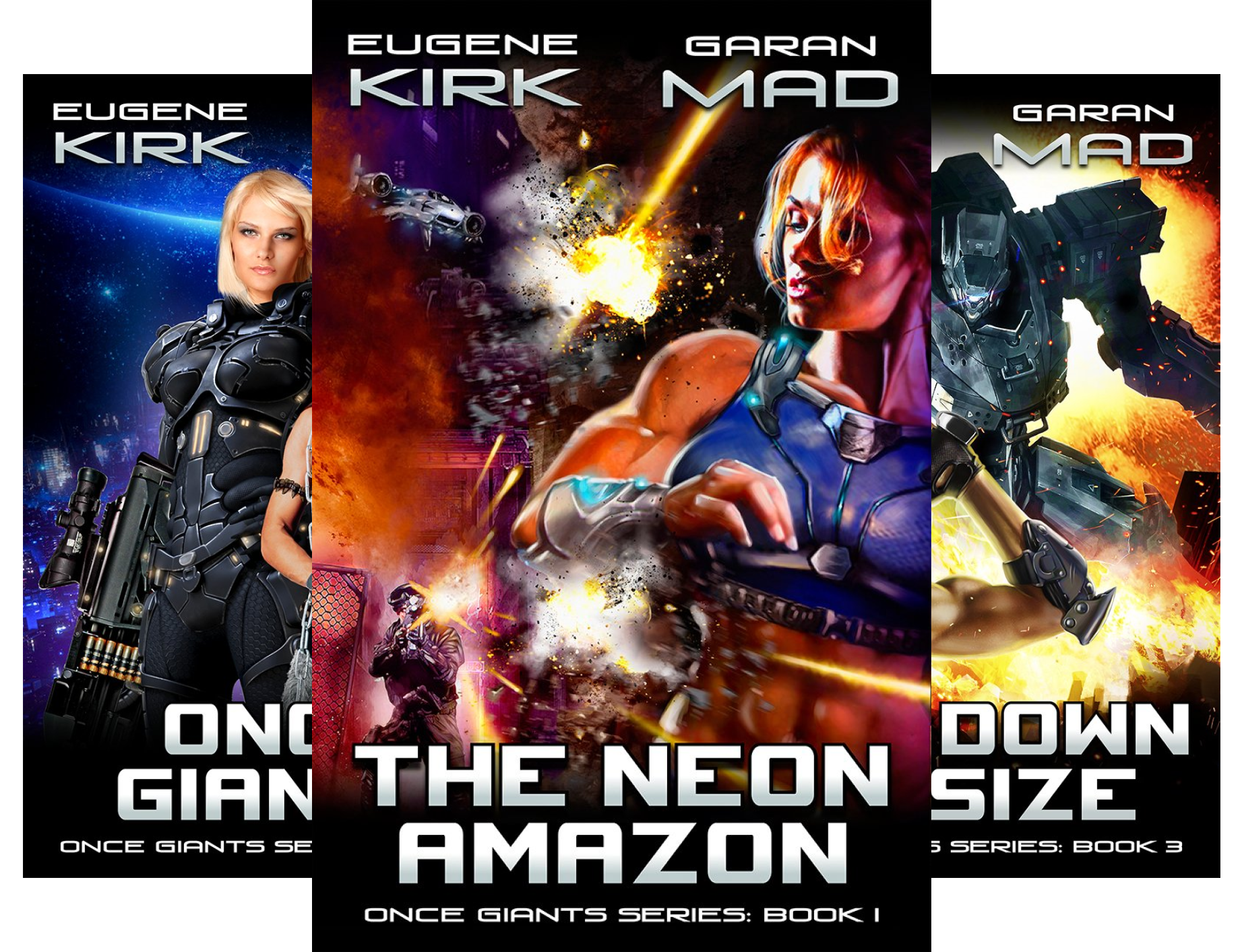 Kindle store kindle books once giants 5 book series for Bureau 13 book series