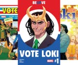 img - for Vote Loki (2016-) (Issues) (4 Book Series) book / textbook / text book
