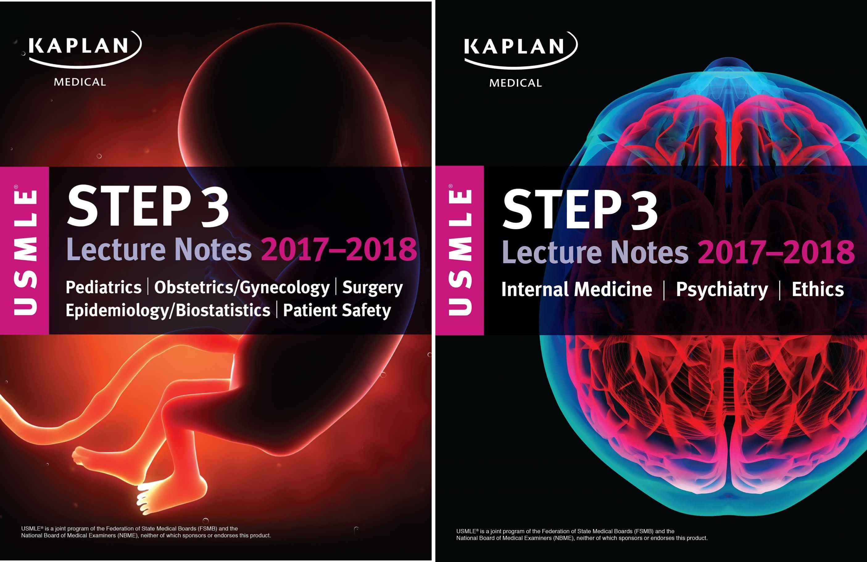 USMLE Step 3 Lecture Notes 2017-2018 (2 Book Series)