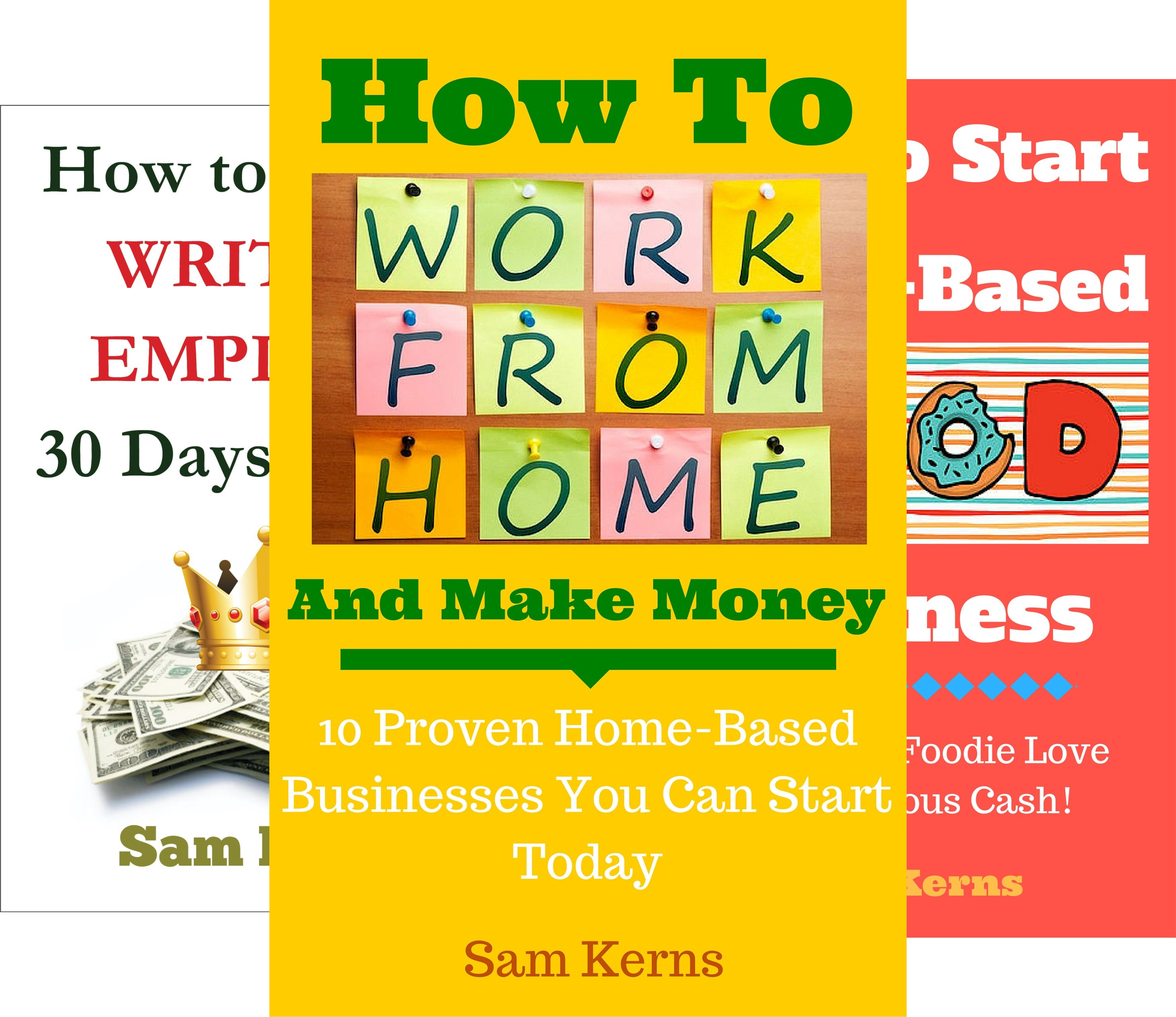 Work From Home Series (6 Book Series)