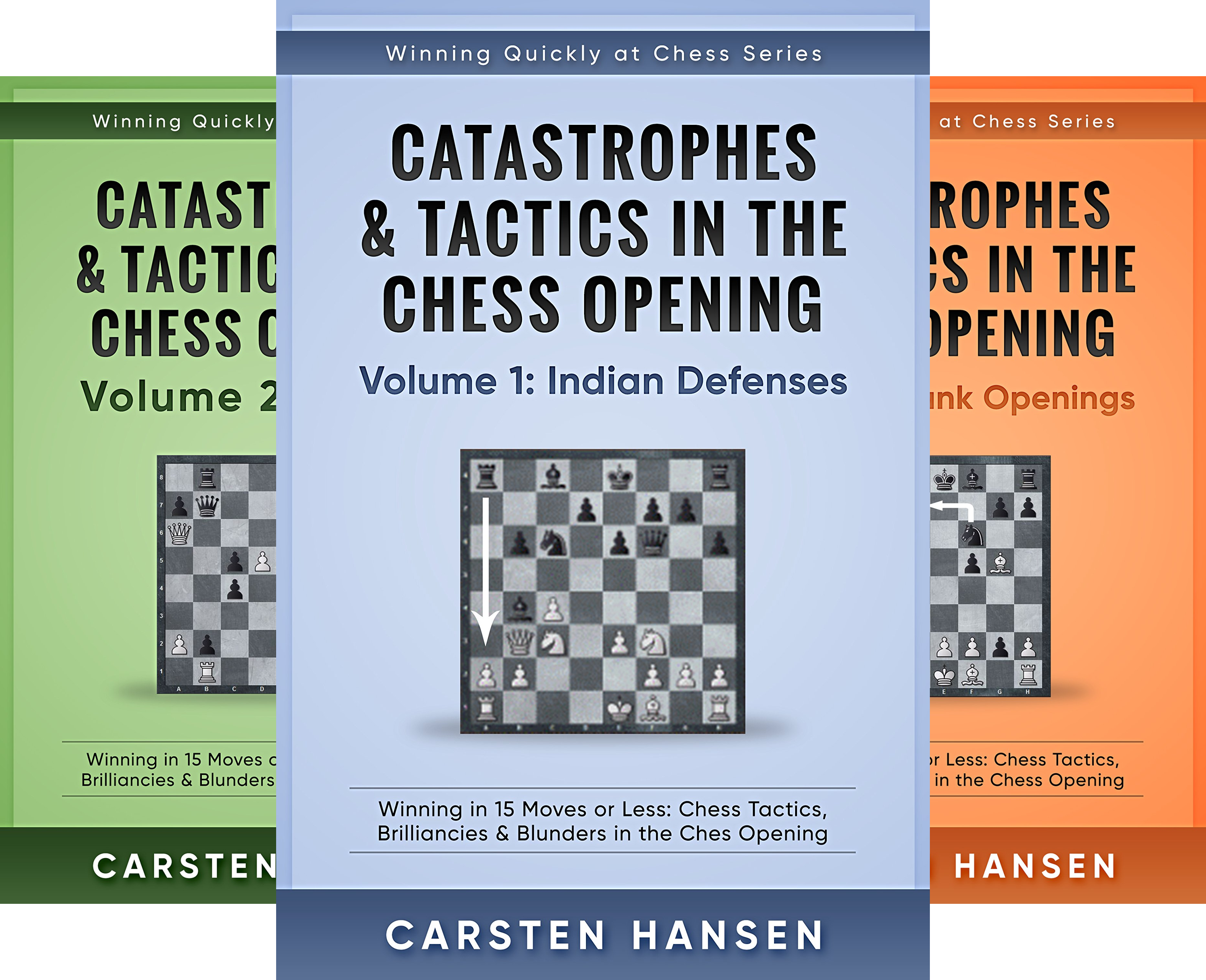 Winning Quickly at Chess Series (8 Book Series)