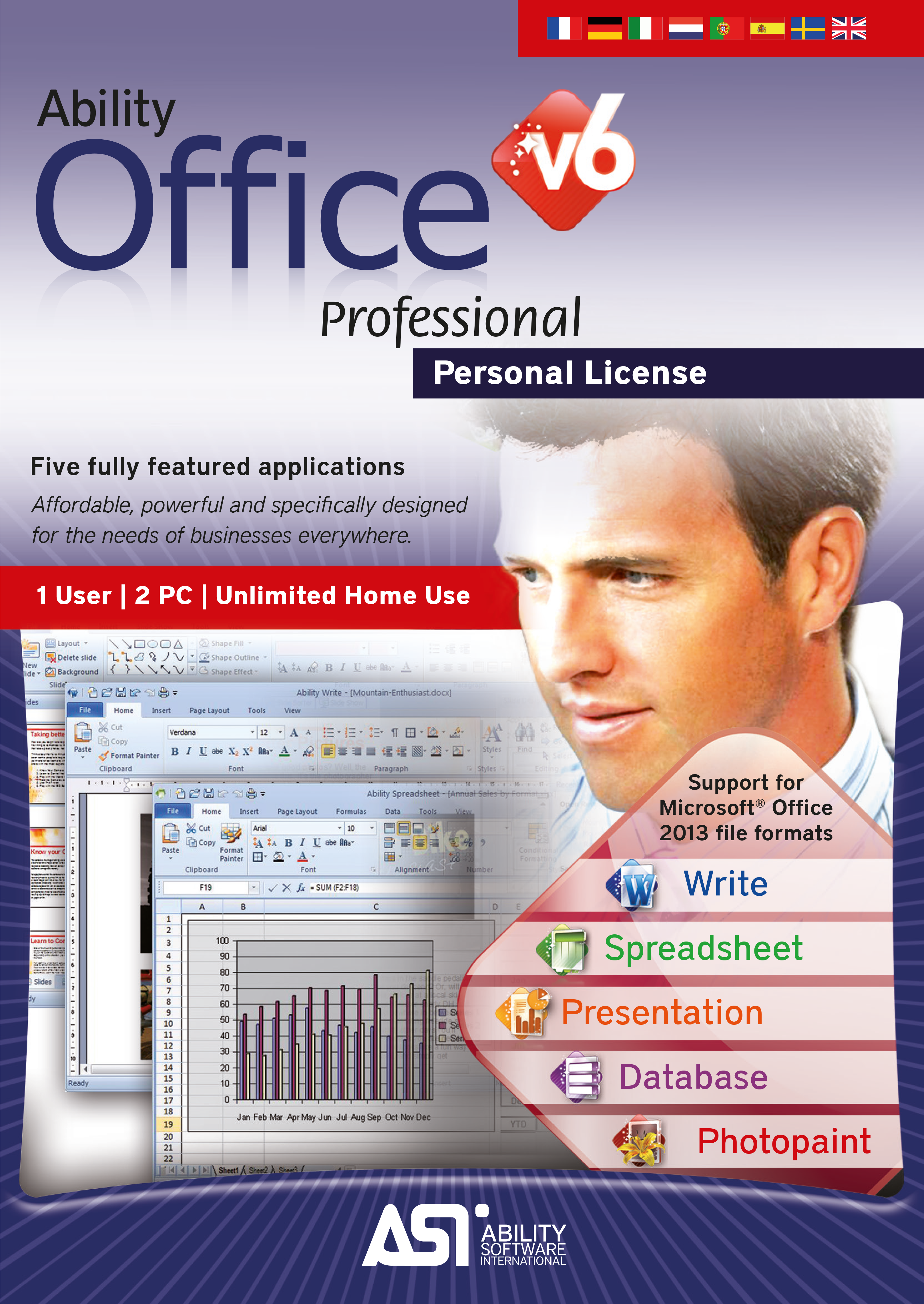 Ability Office Professional 6 - 30 Day Free Trial [Download] (Dropbox Free compare prices)