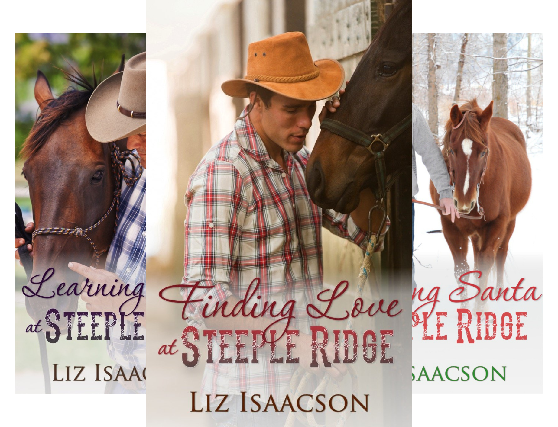 Steeple Ridge Romance (4 Book Series)