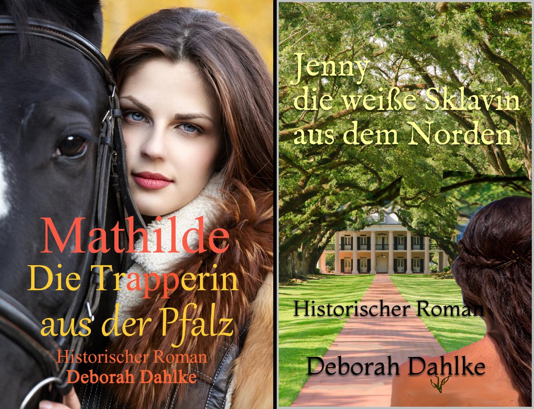 Mathilde die Trapperin aus der Pfalz (Reihe in 2 Bänden)