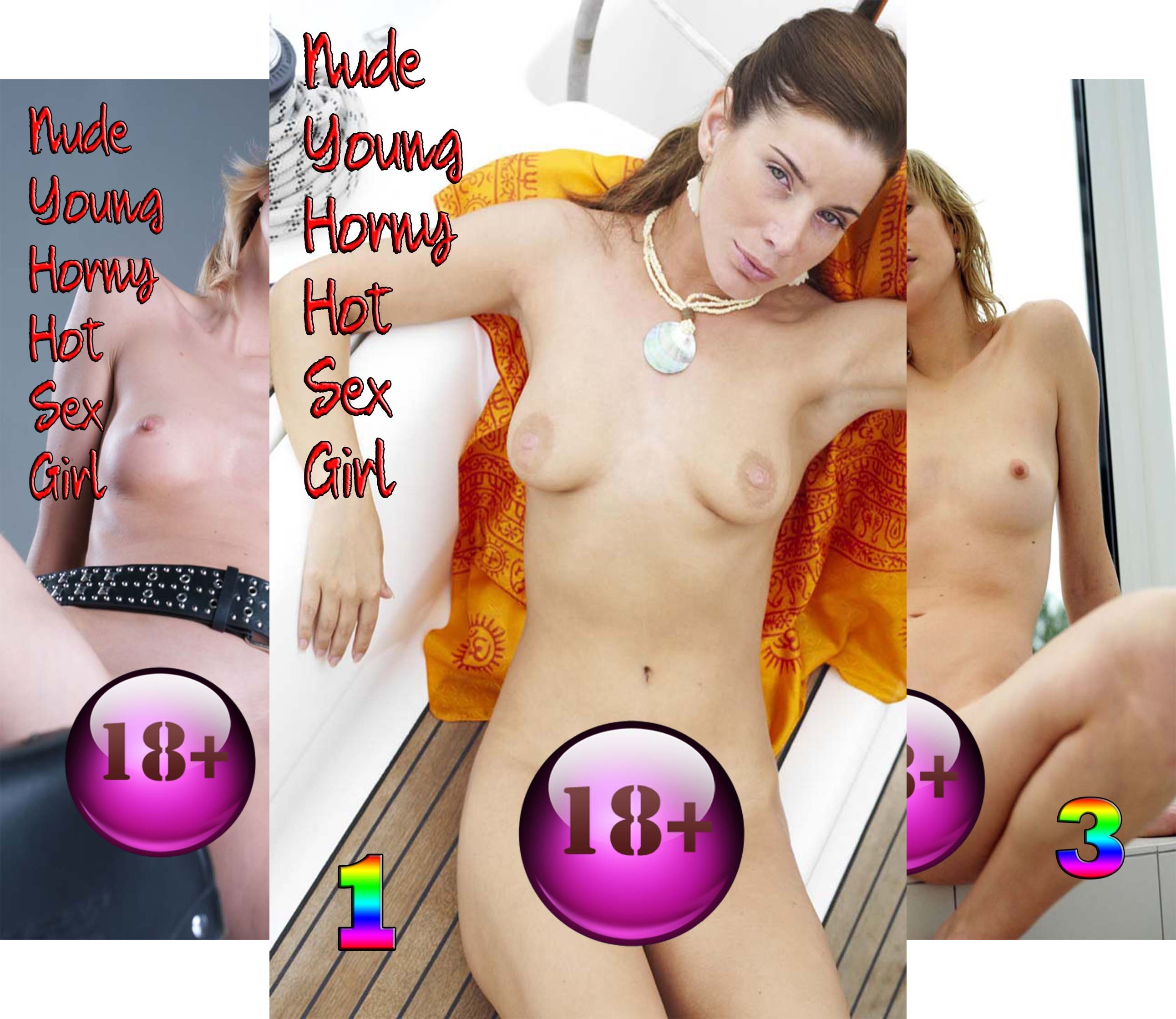 Nude Young Horny Hot Sex Girl (10 Book Series)