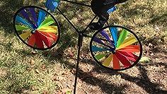 mehrfarbig Premier Kite Bike Spinner Tuxedo Katzen-Figuren