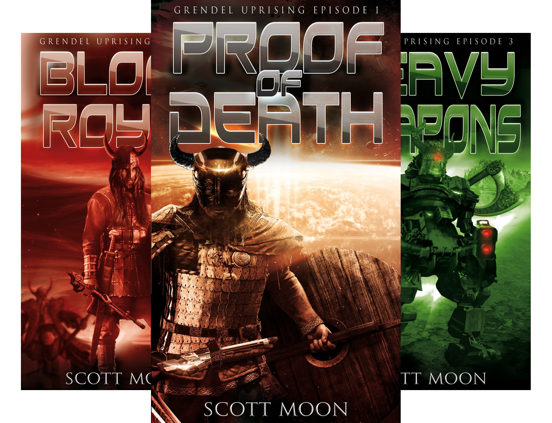 Grendel Uprising (3 Book Series)