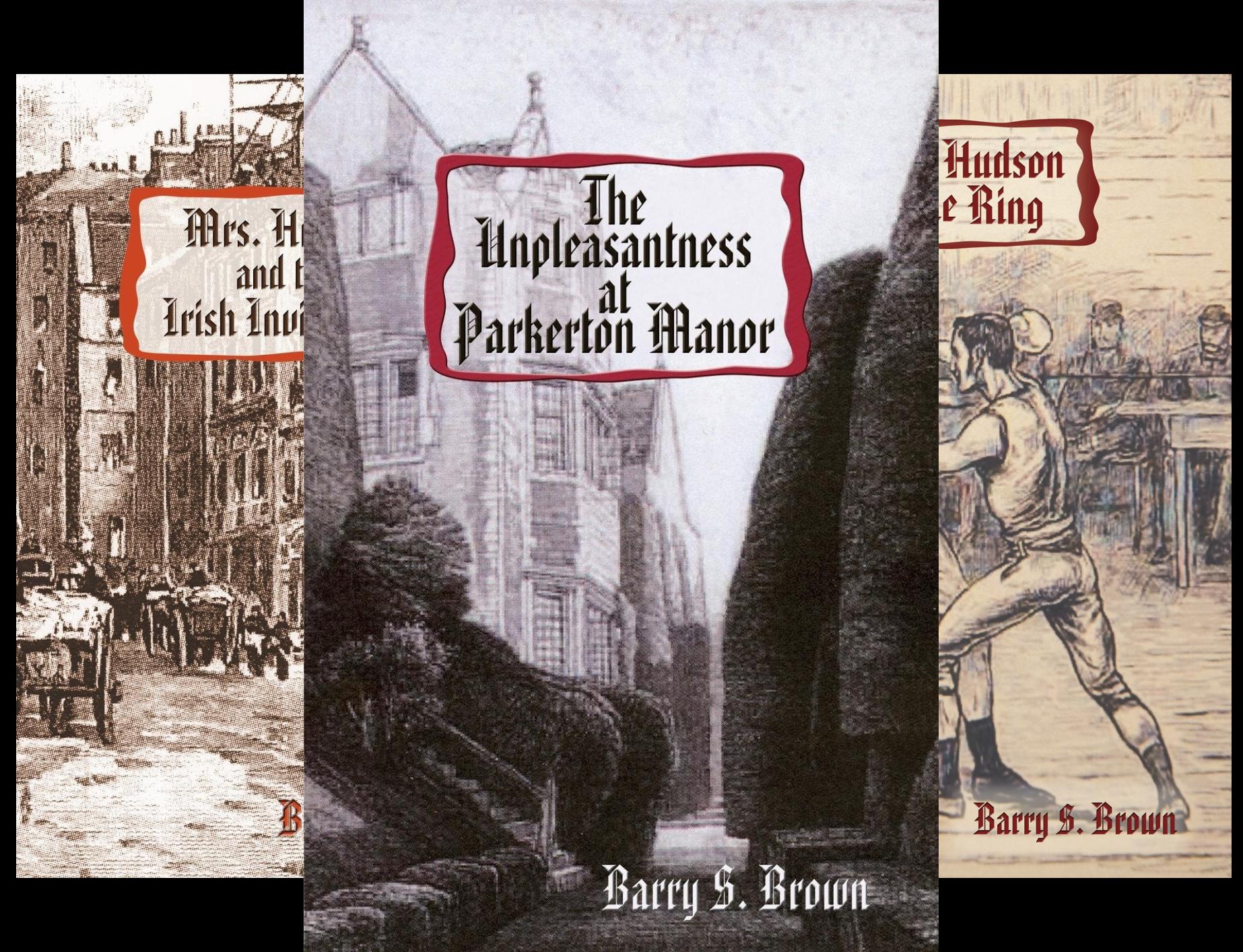 Mrs. Hudson of Baker Street series (5 Book Series)