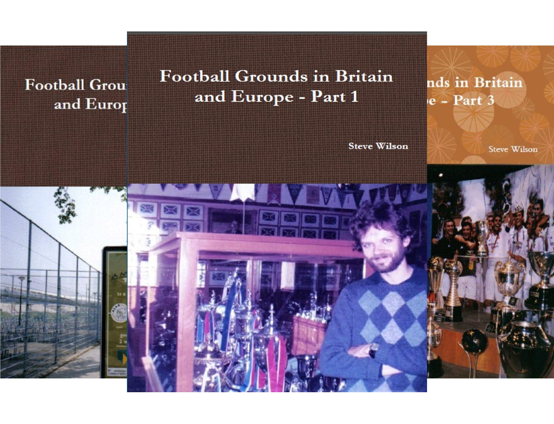 Football Grounds in Britain and Europe (3 Book Series)
