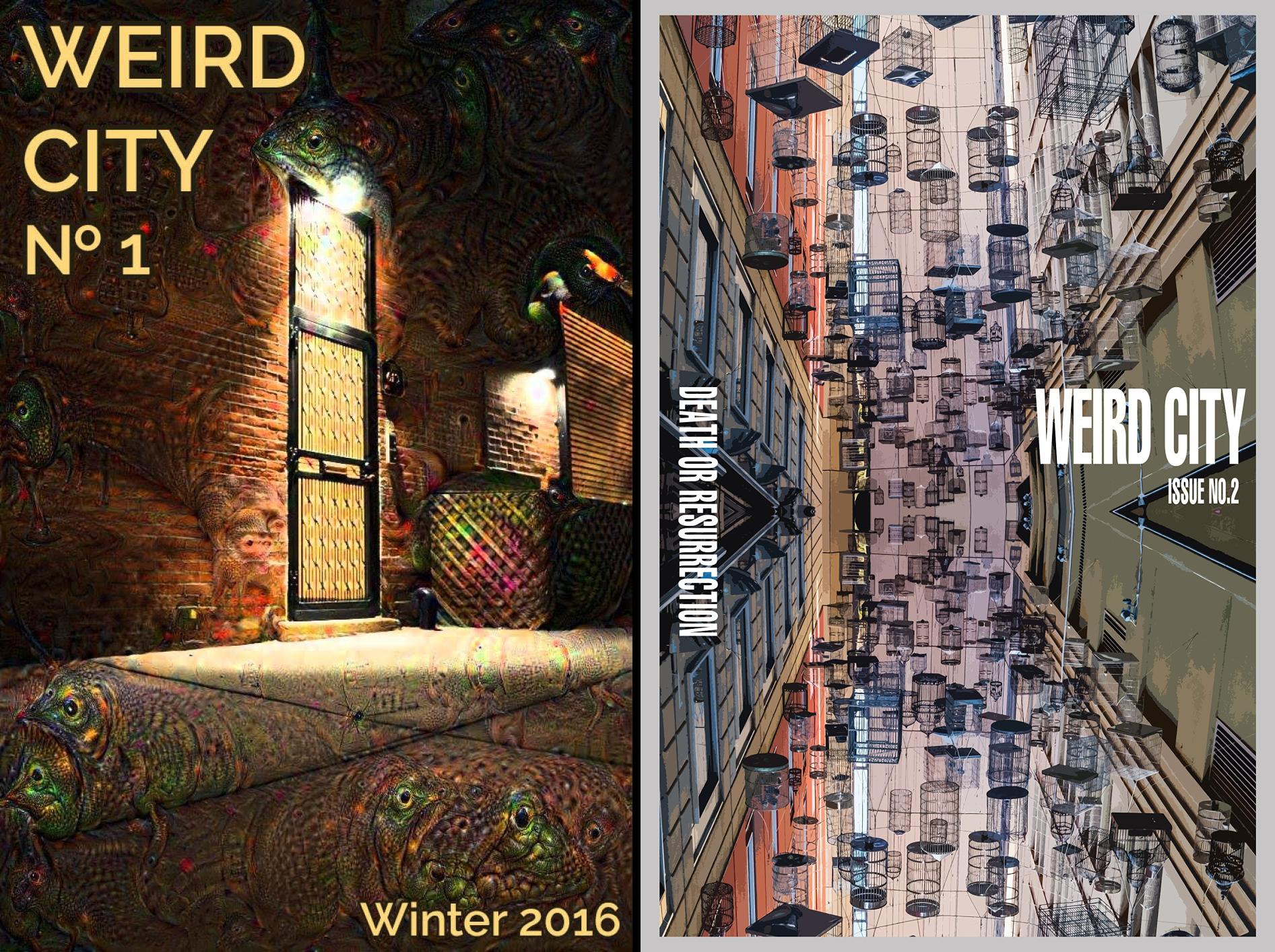 Weird City Magazine (2 Book - Tom Ford Franklin