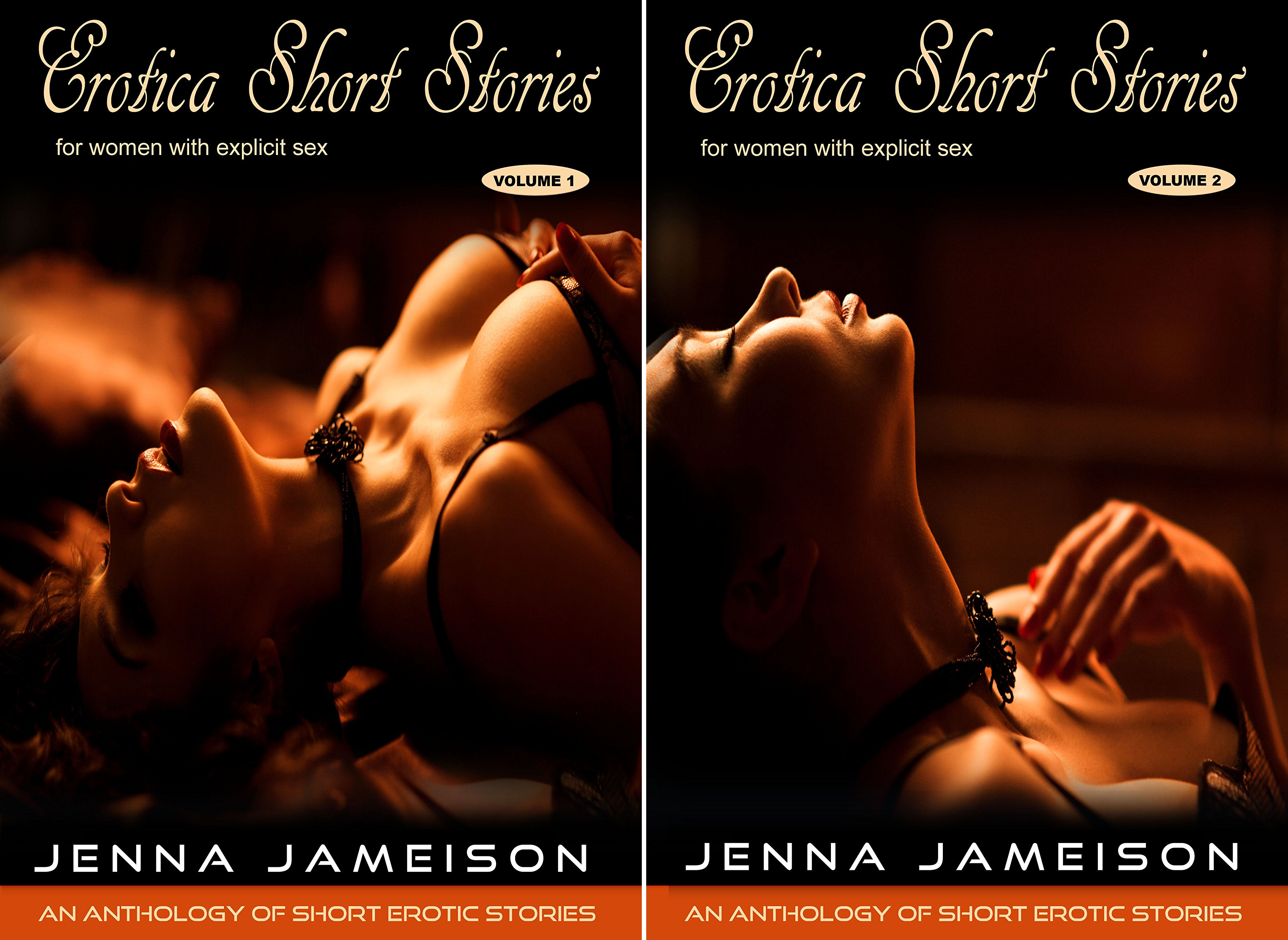 Books : Erotica Short Stories for Women with Explicit Sex (2 Book Series)
